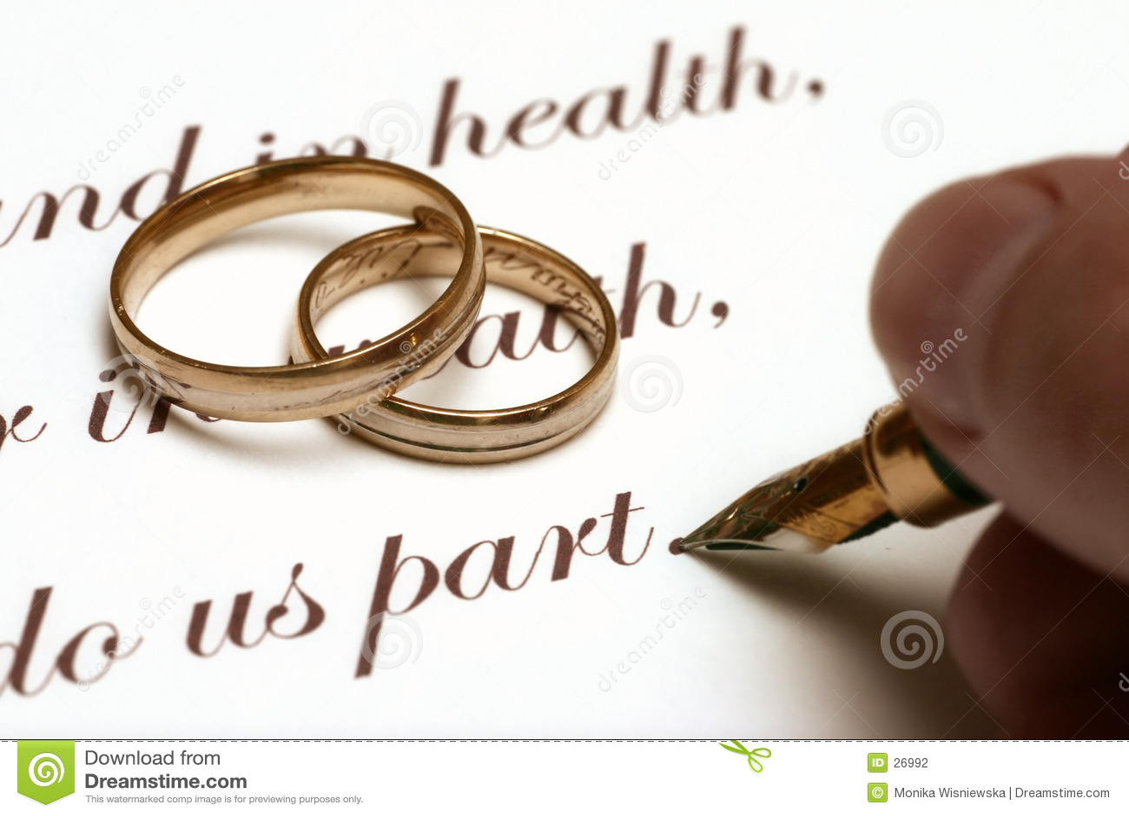 венчание старого типа