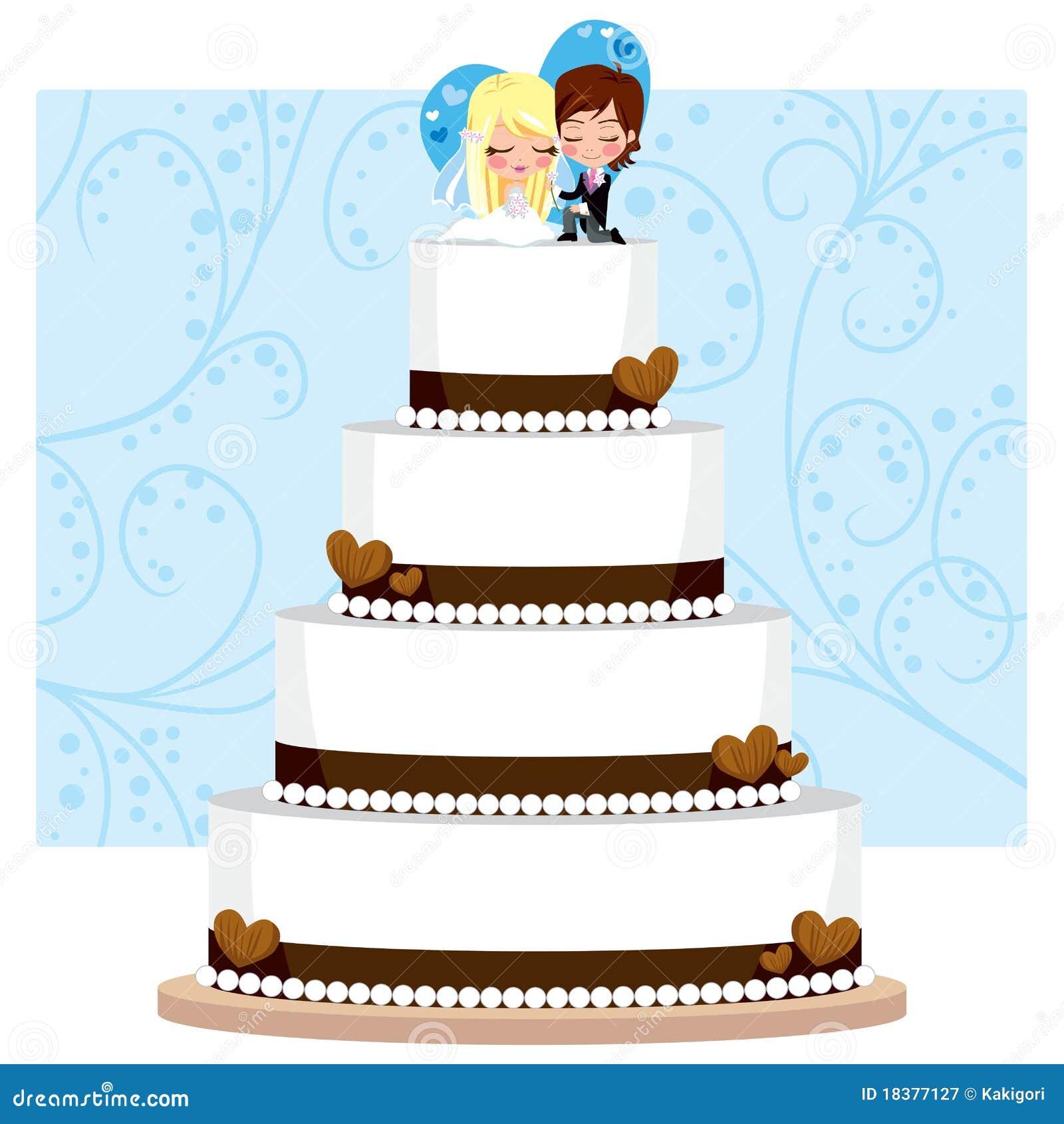 венчание шоколада торта