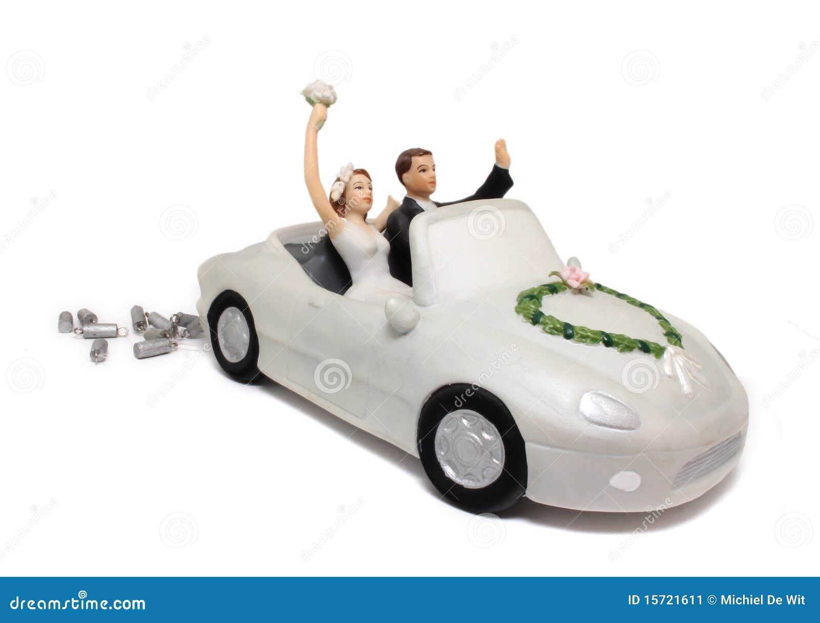 венчание экстракласса автомобиля торта