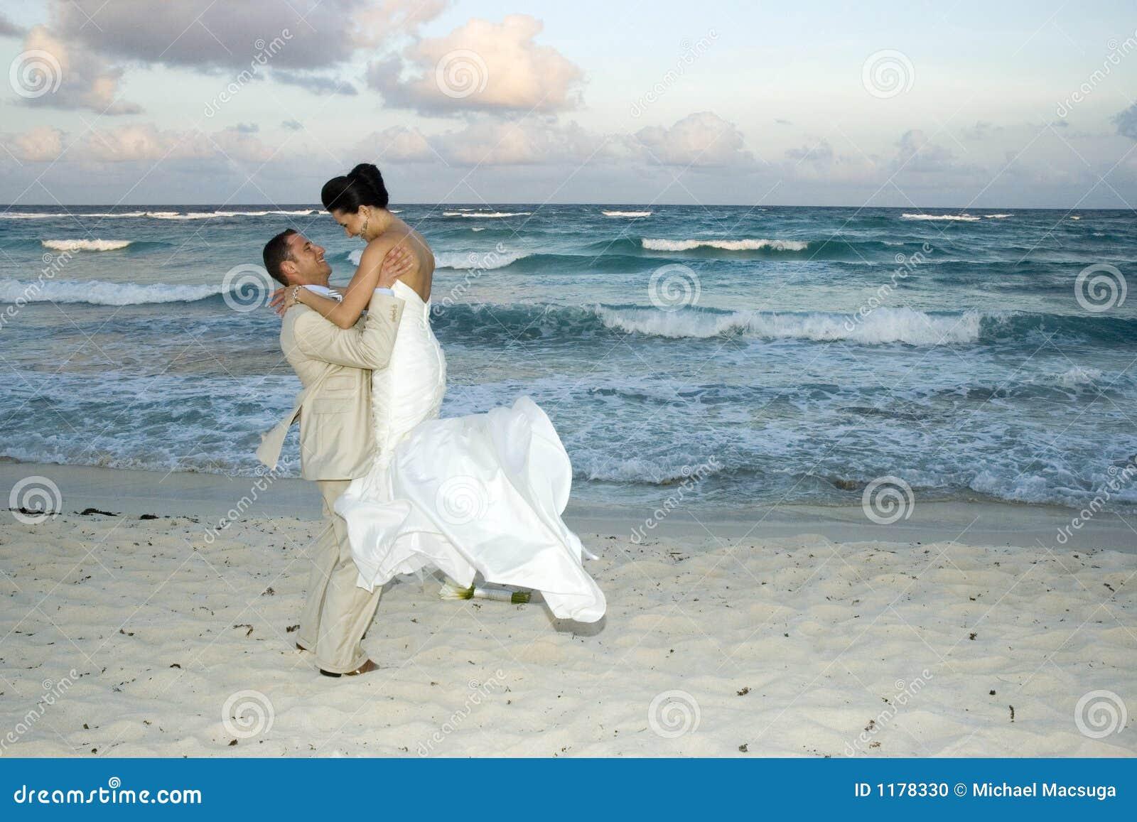 венчание cele пляжа карибское