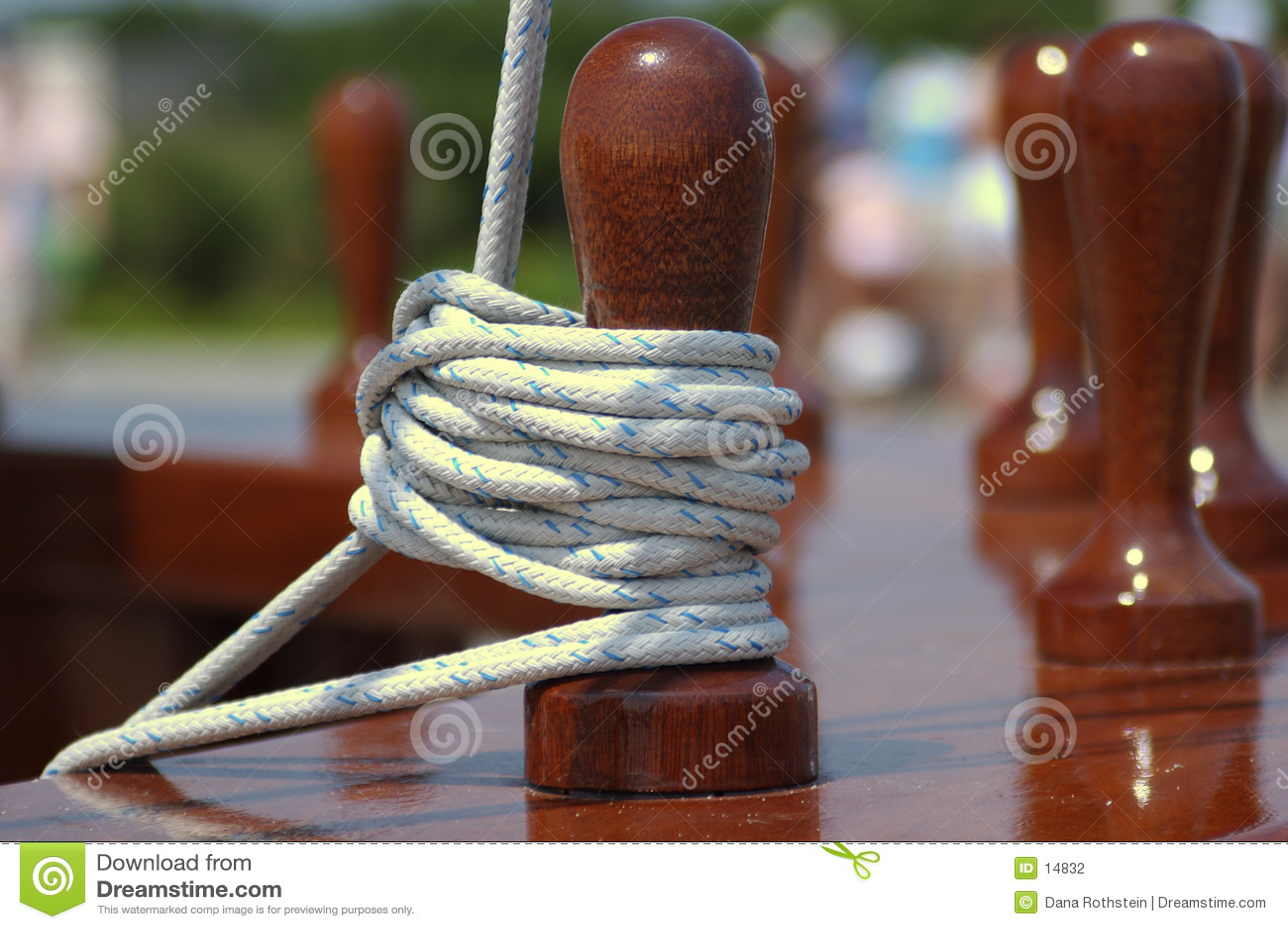 веревочка зачаливания