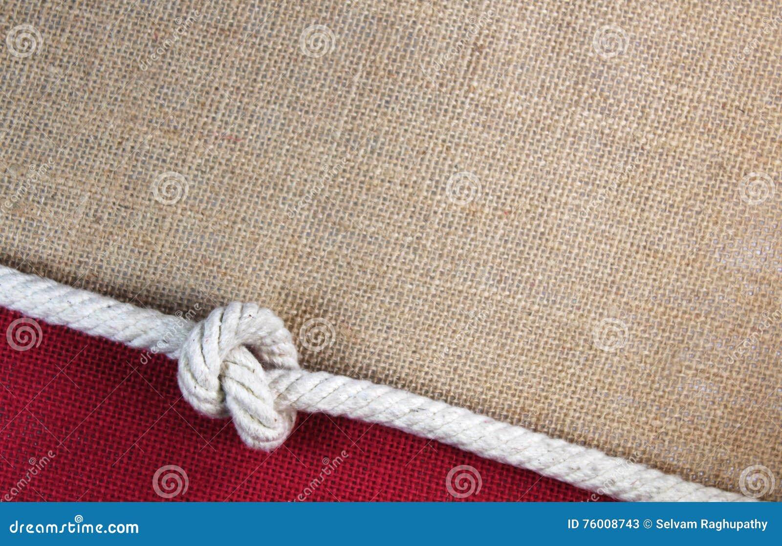 Веревочка с джутом