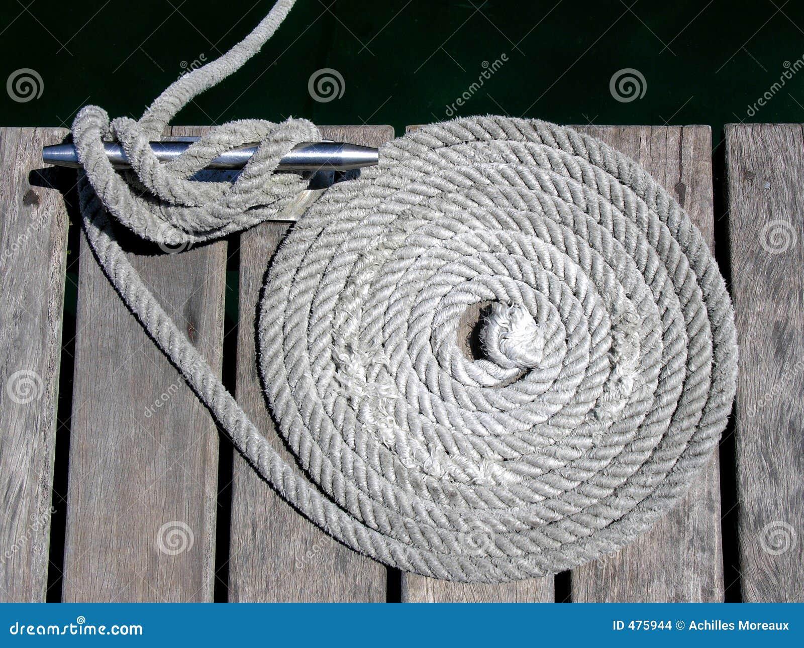 веревочки узлов зажимов