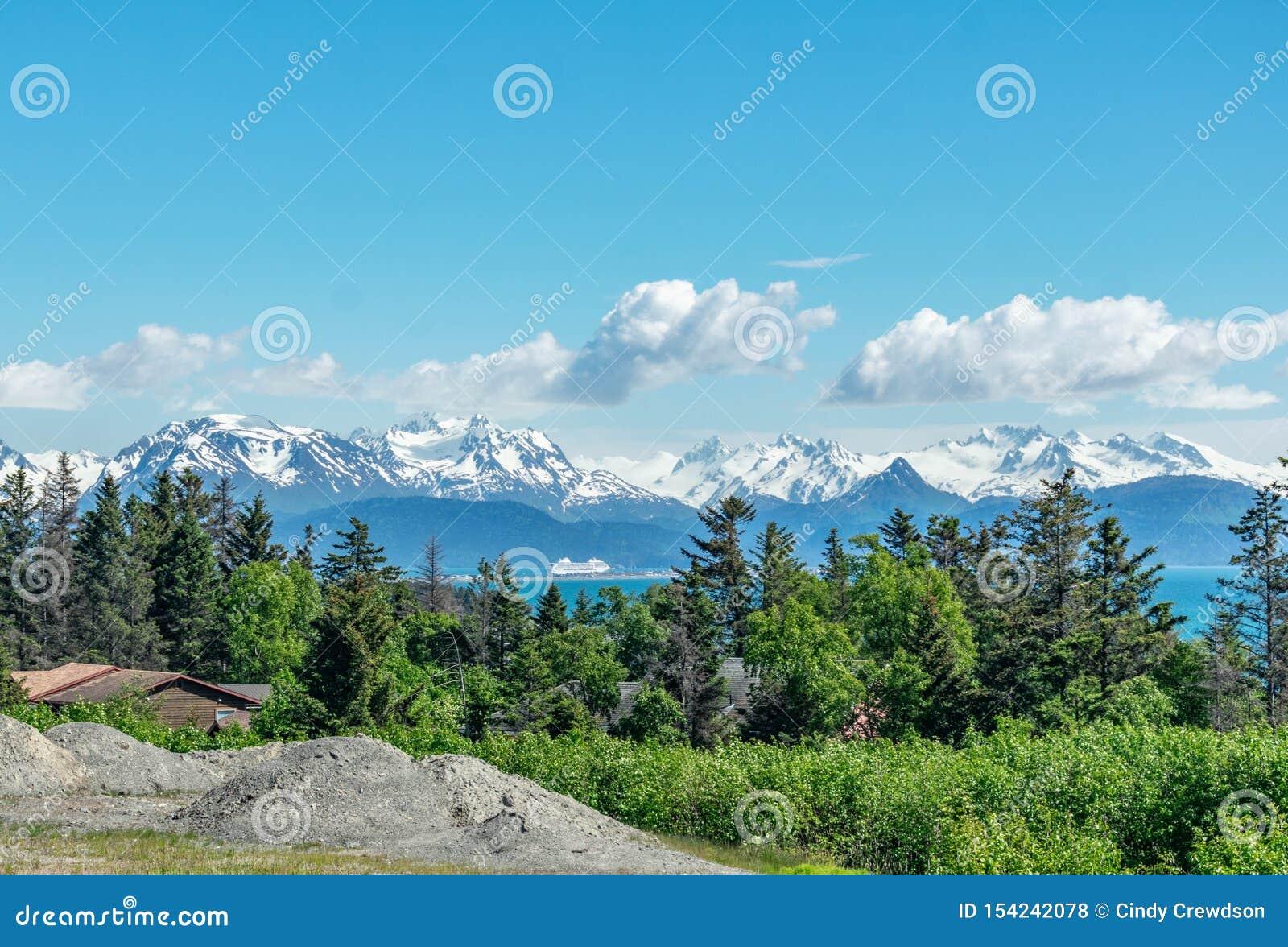 Вертел почтового голубя, Аляска