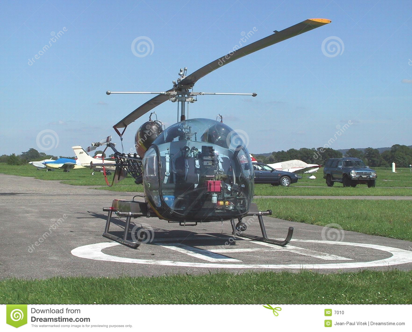 вертолет колокола 46 b