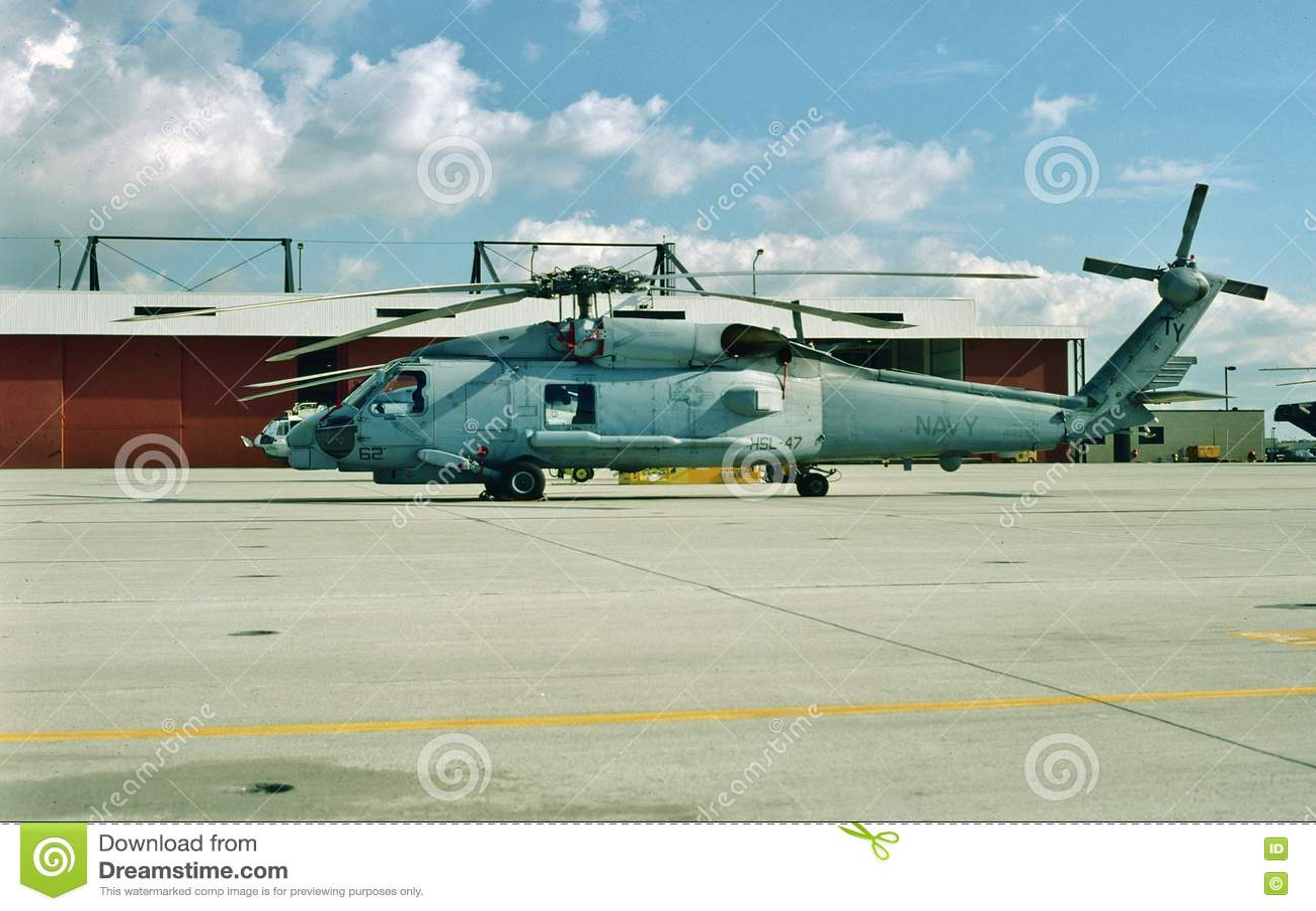 Вертолет USN Sikorsky SH-60B Seahawk