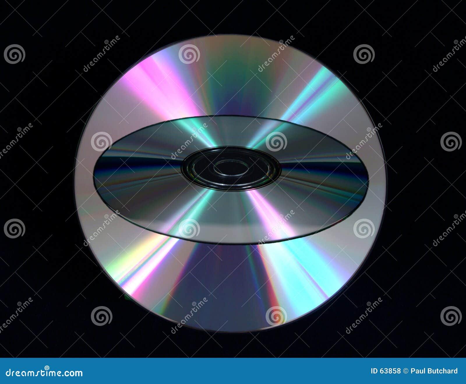 верхний слой компакта-диска