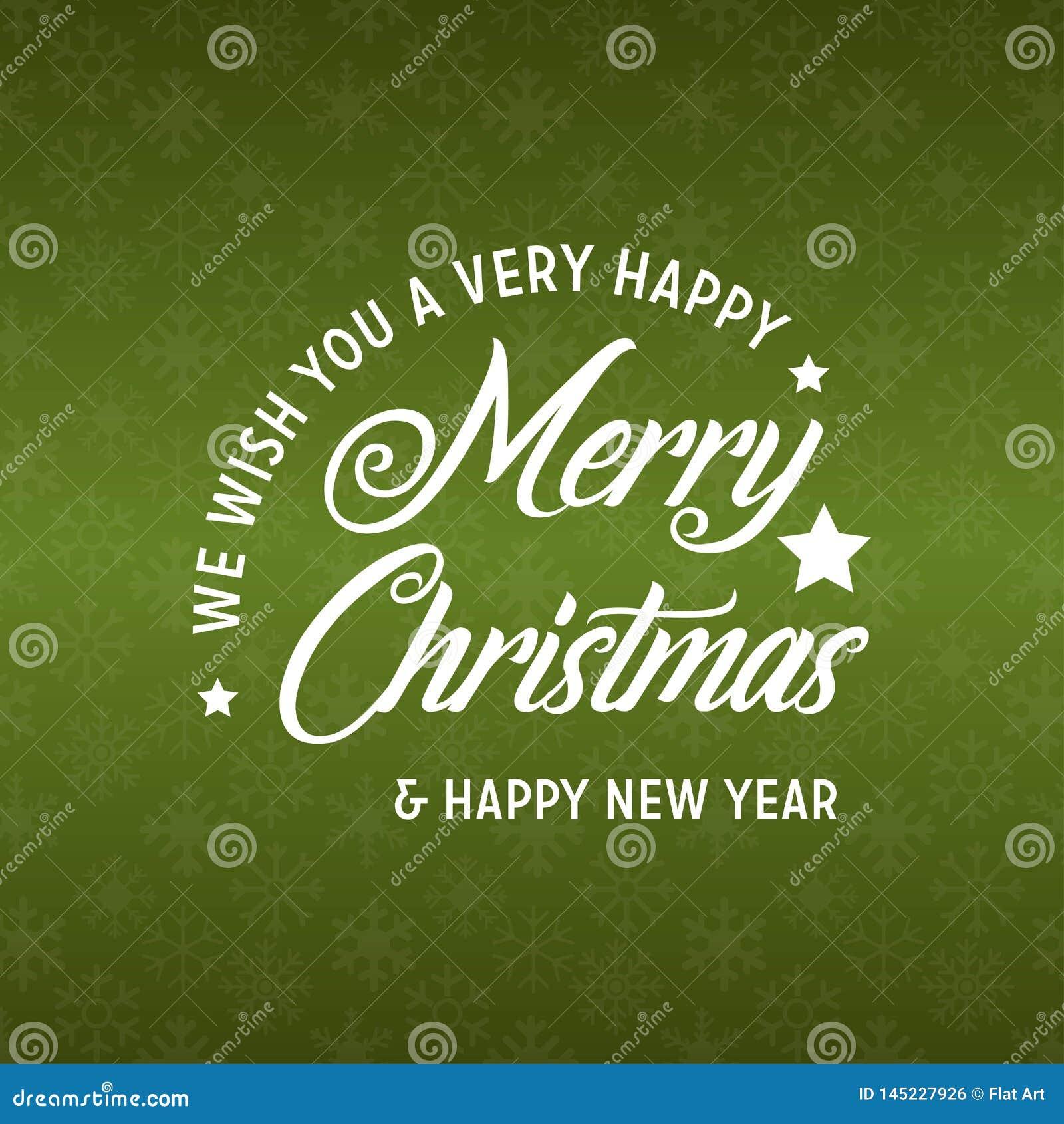 Веселое рождество и С Новым Годом! зеленая предпосылка 2019