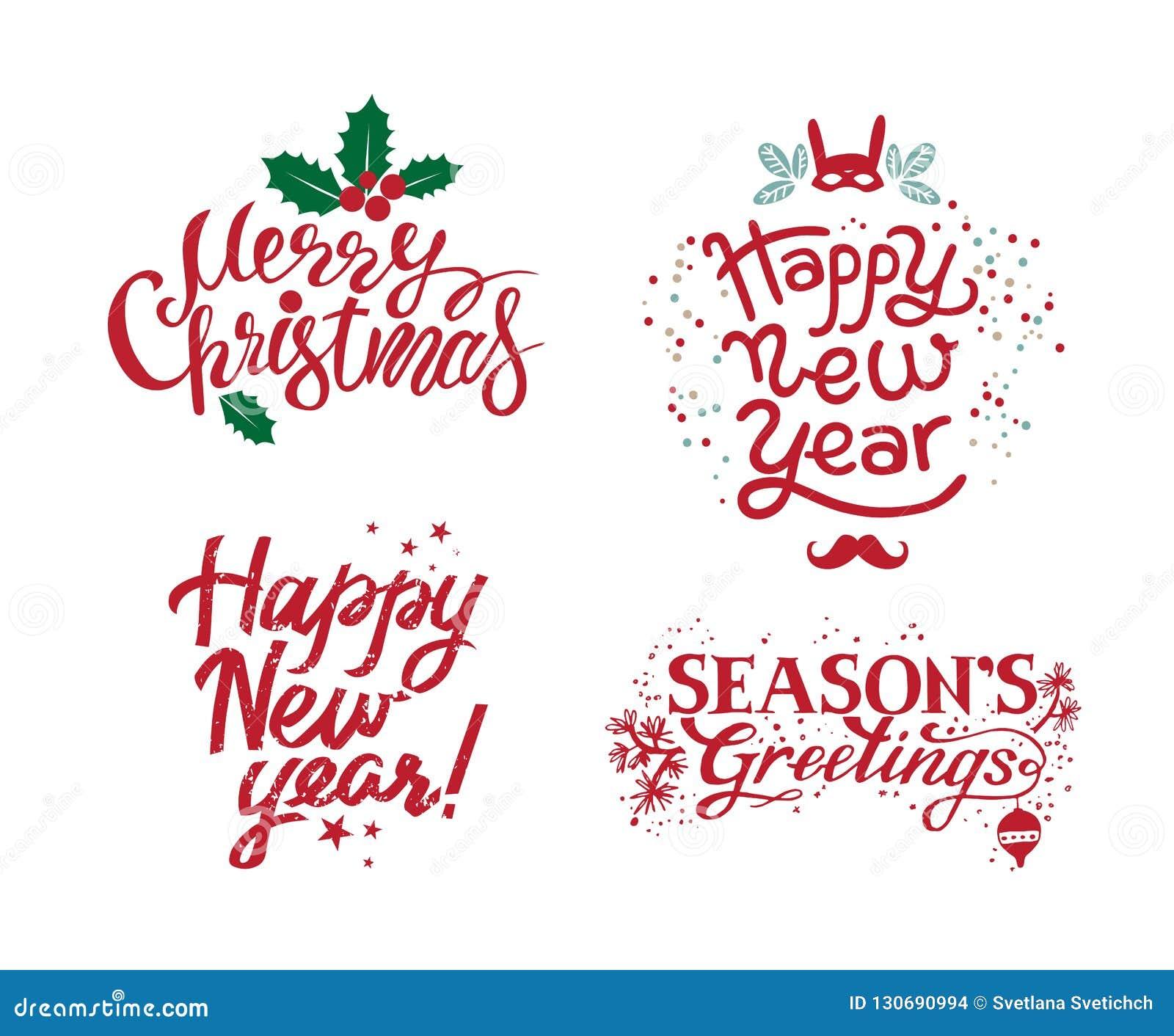 Веселое рождество, приветствия сезонов, С Новым Годом!