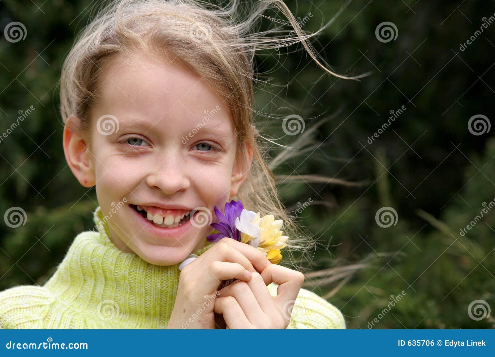 Download весна настроения стоковое фото. изображение насчитывающей дети - 635706