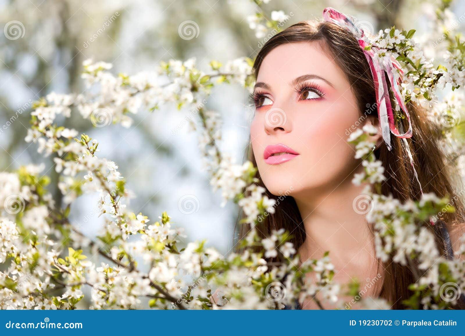 весна портрета