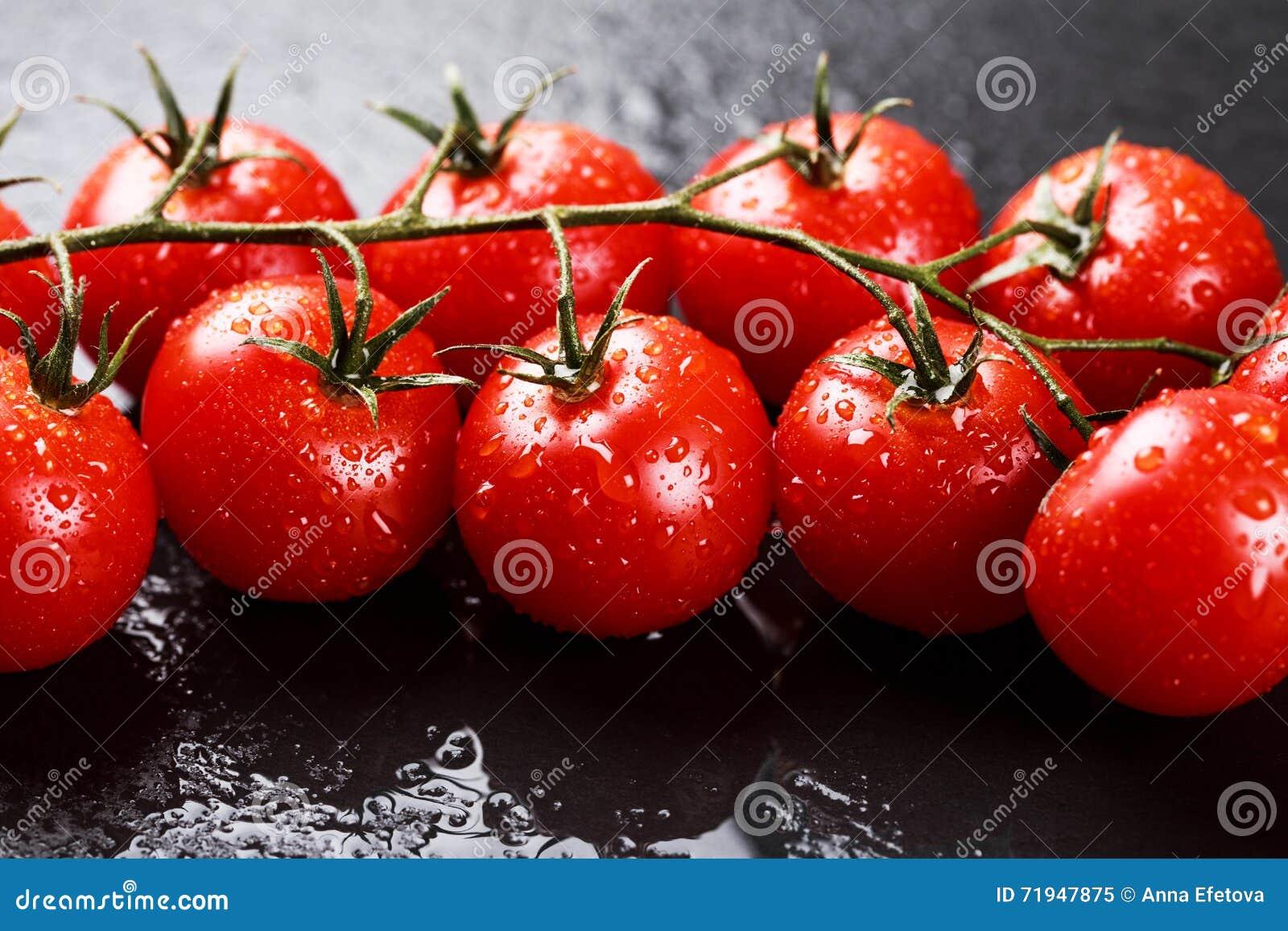 Ветвь томатов вишни