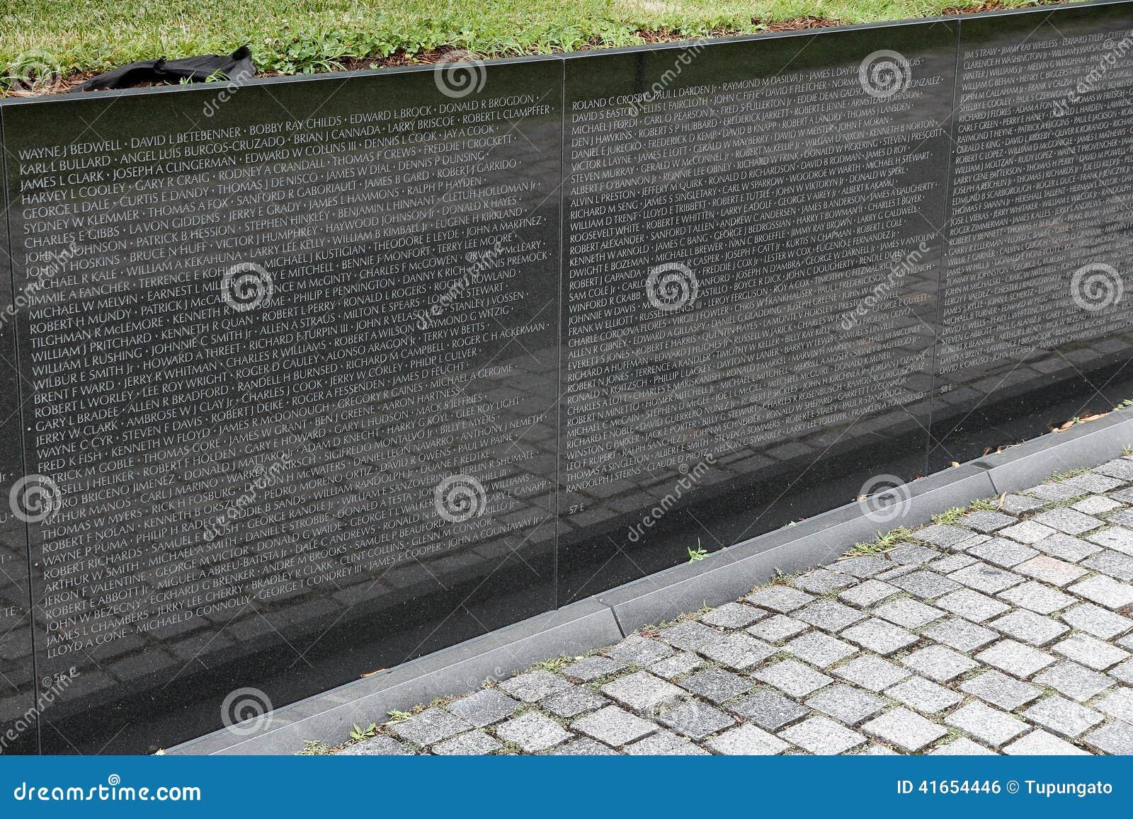 Ветераны Вьетнама мемориальные