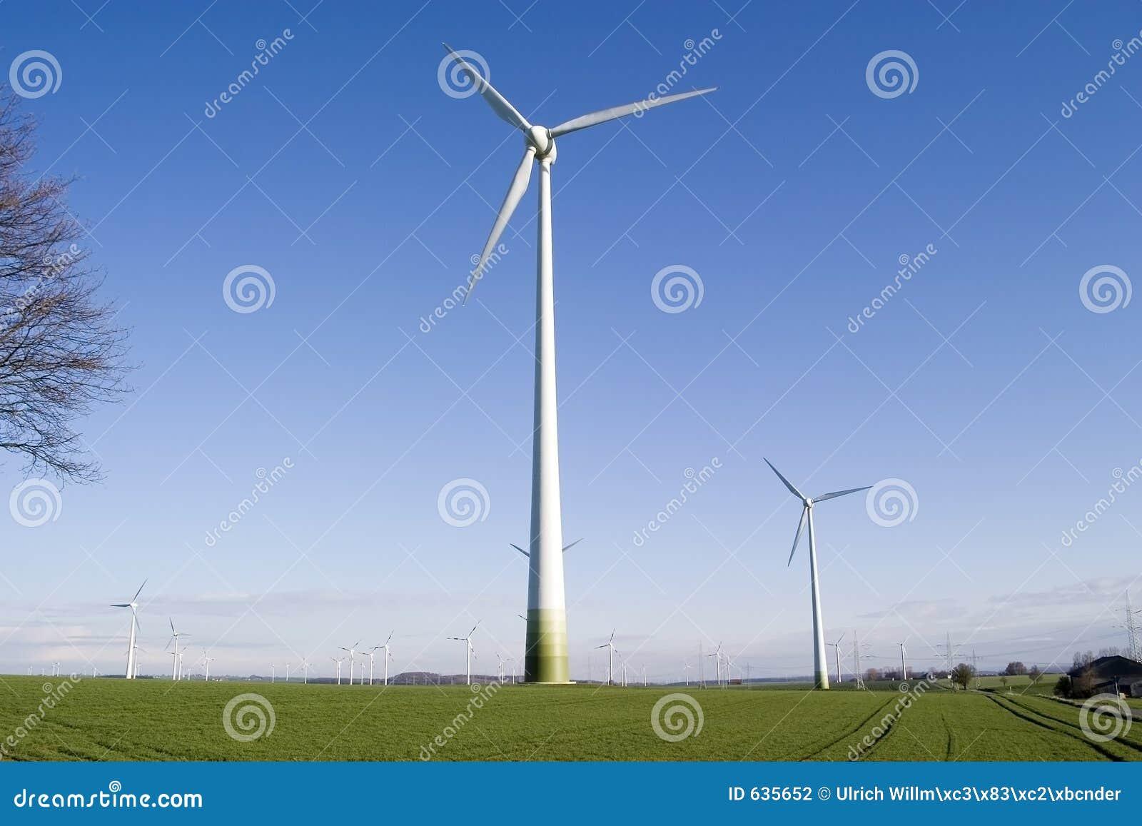 ветер генератора энергии