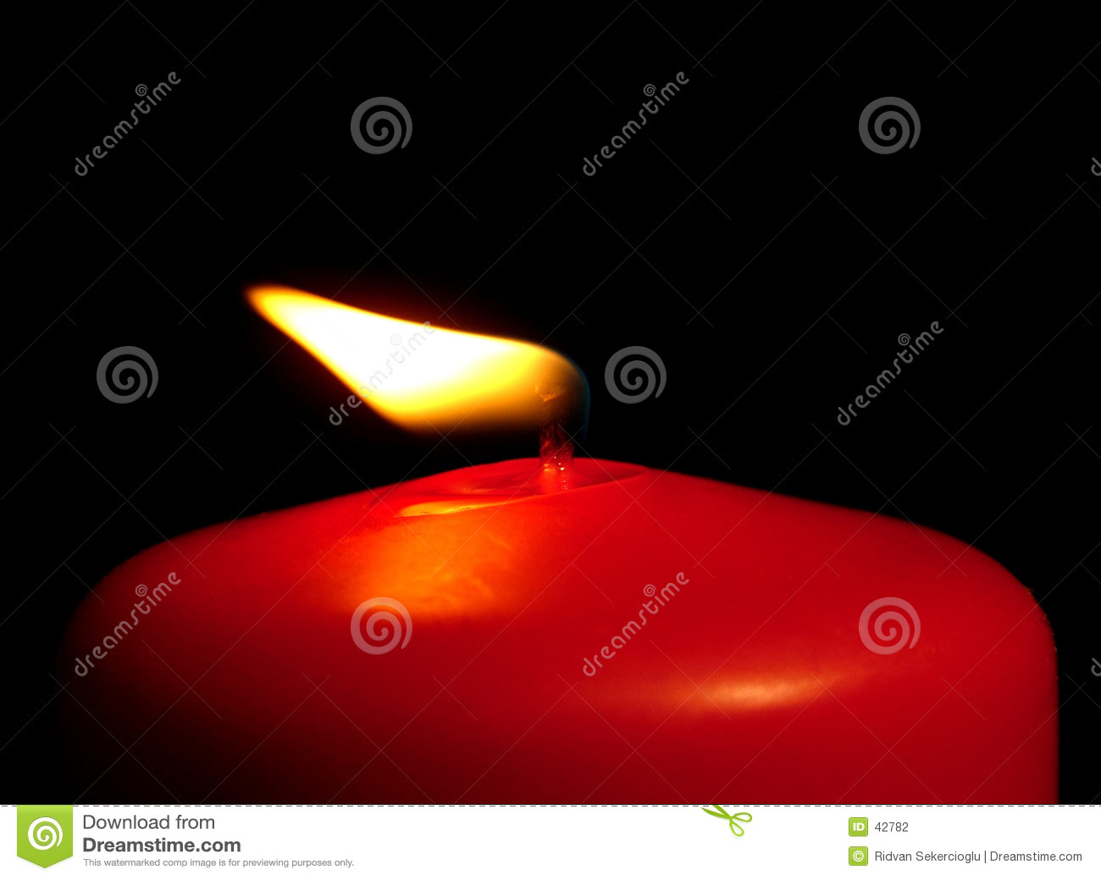 ветер красного цвета свечки