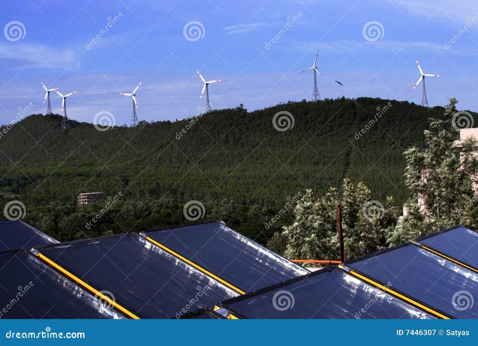 ветер силы энергии солнечный