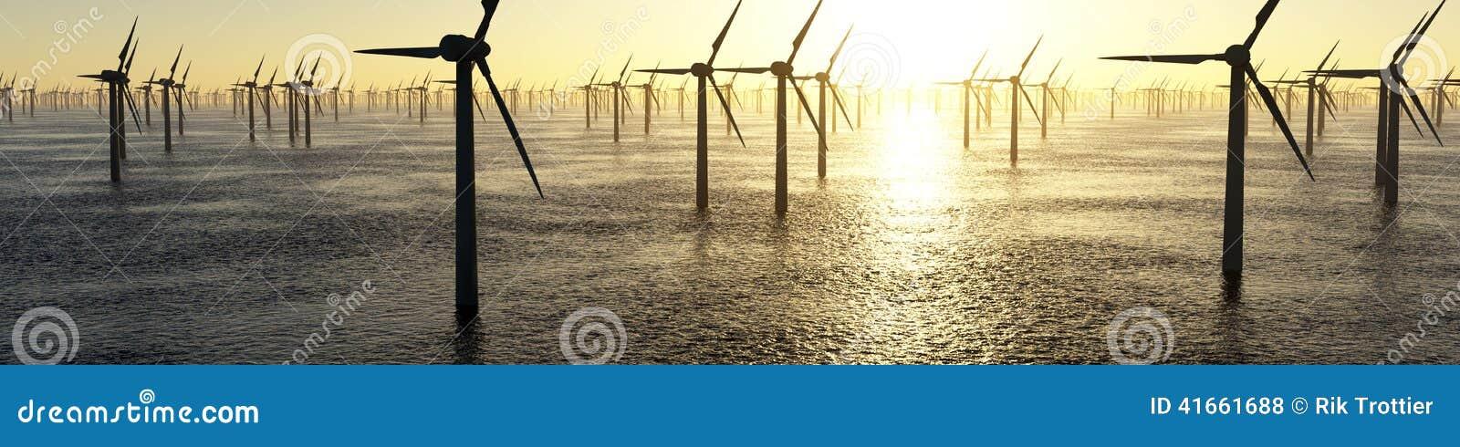 ветер турбины источника фермы альтернативной энергии