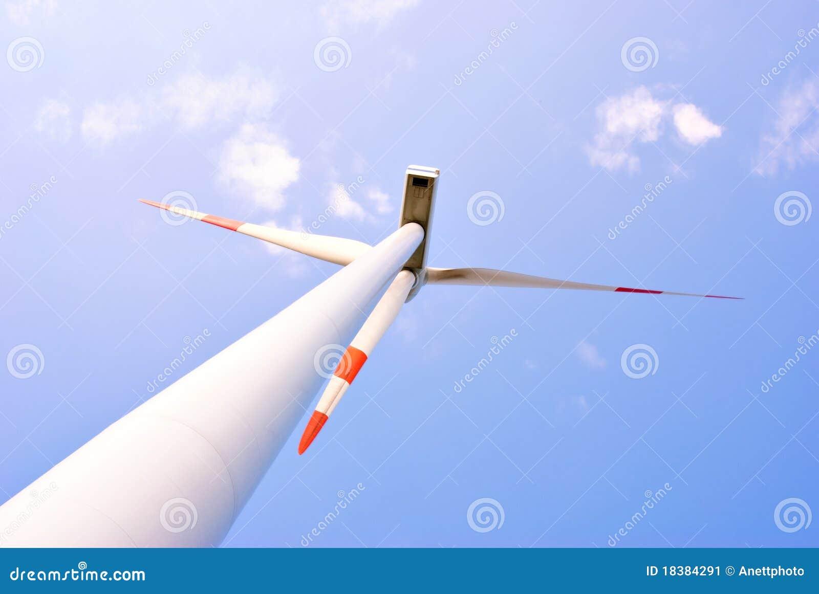ветер турбины электростанции энергии