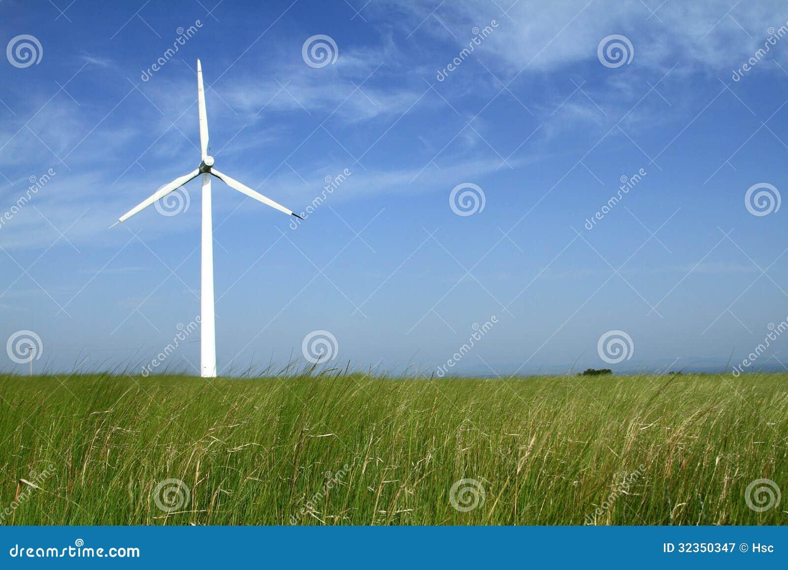 Ветротурбины в фарфоре
