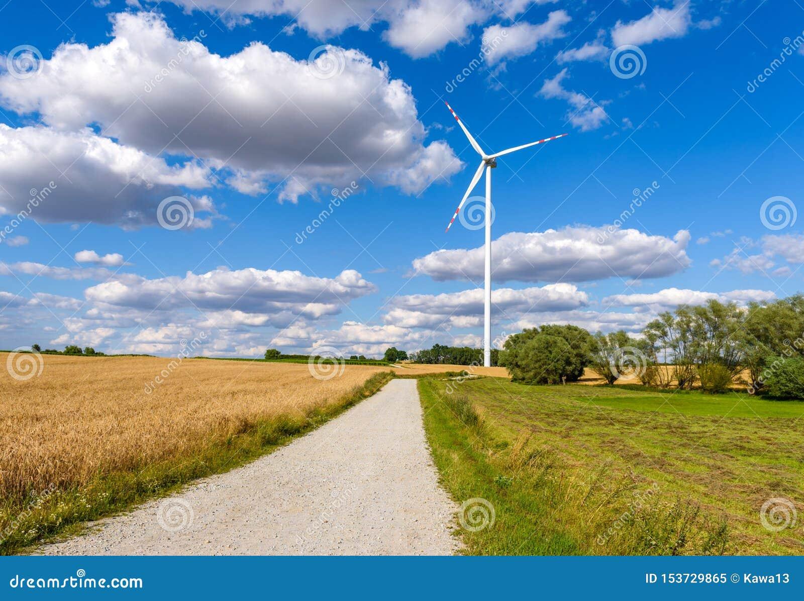 Ветрянка для продукции электричества