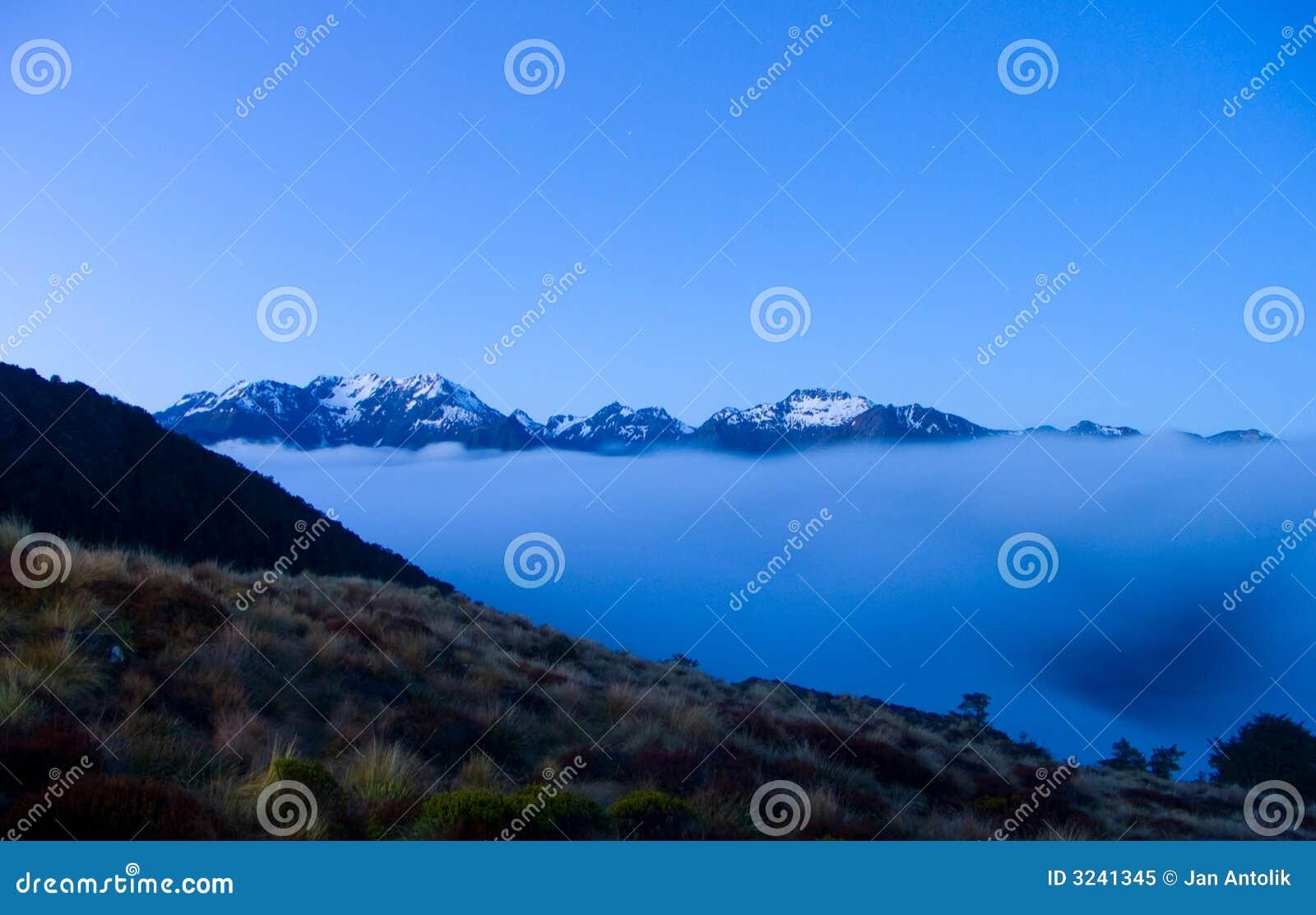 вечер Новая Зеландия