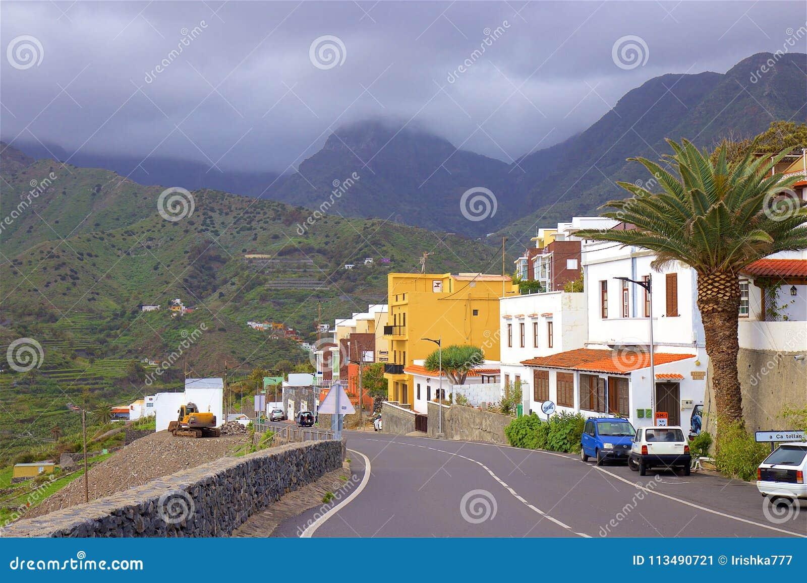 Взгляды острова Gomera Ла, Canaries