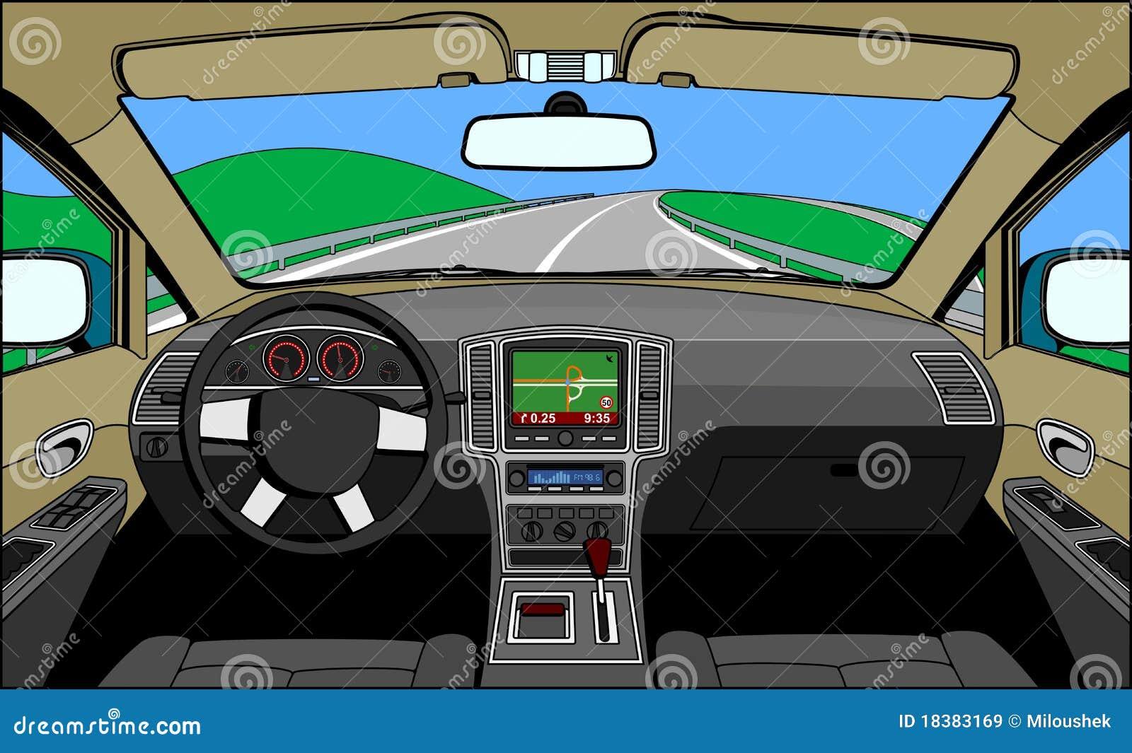 взгляд водителя