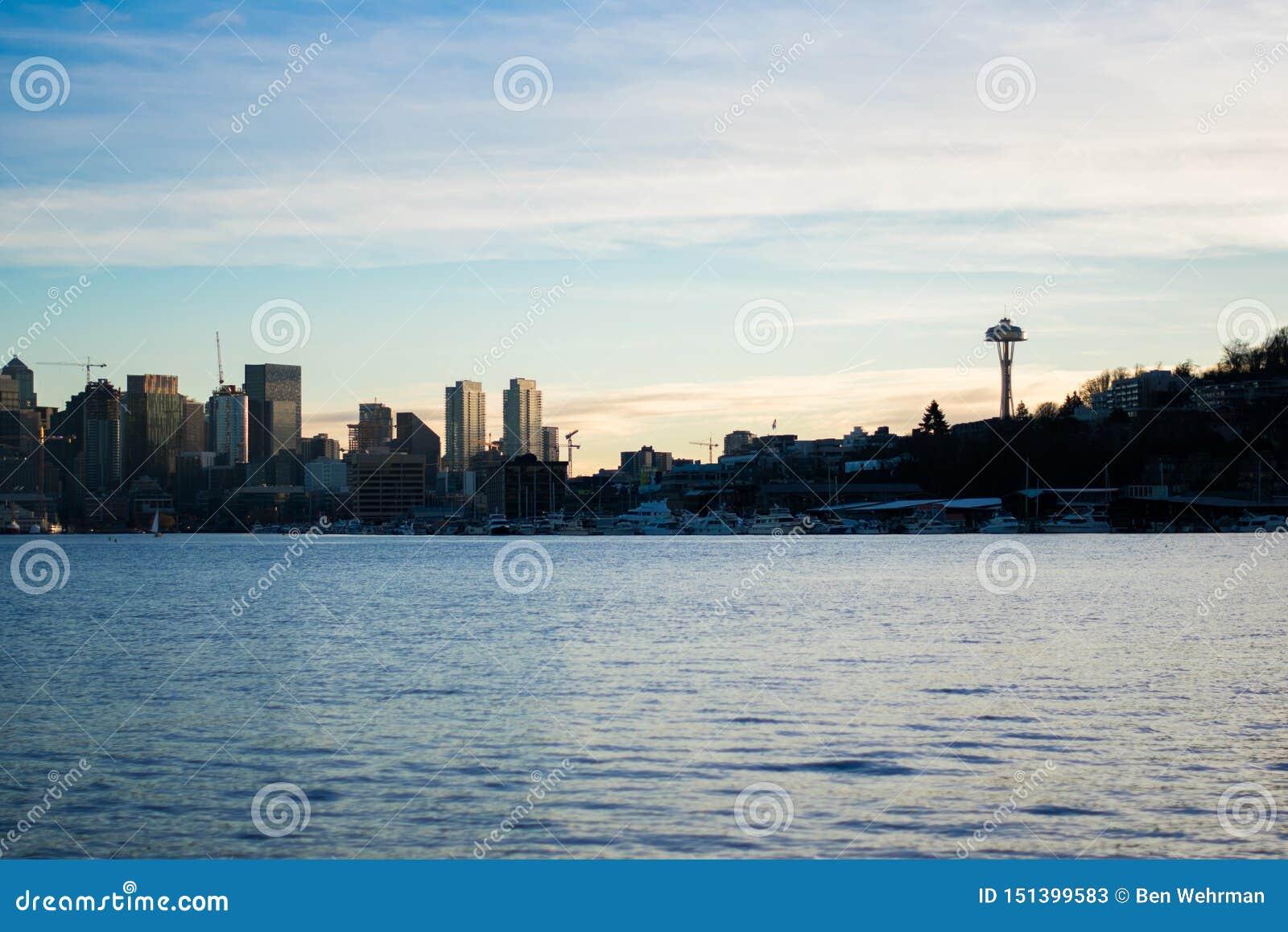 Взгляд горизонта Сиэтл