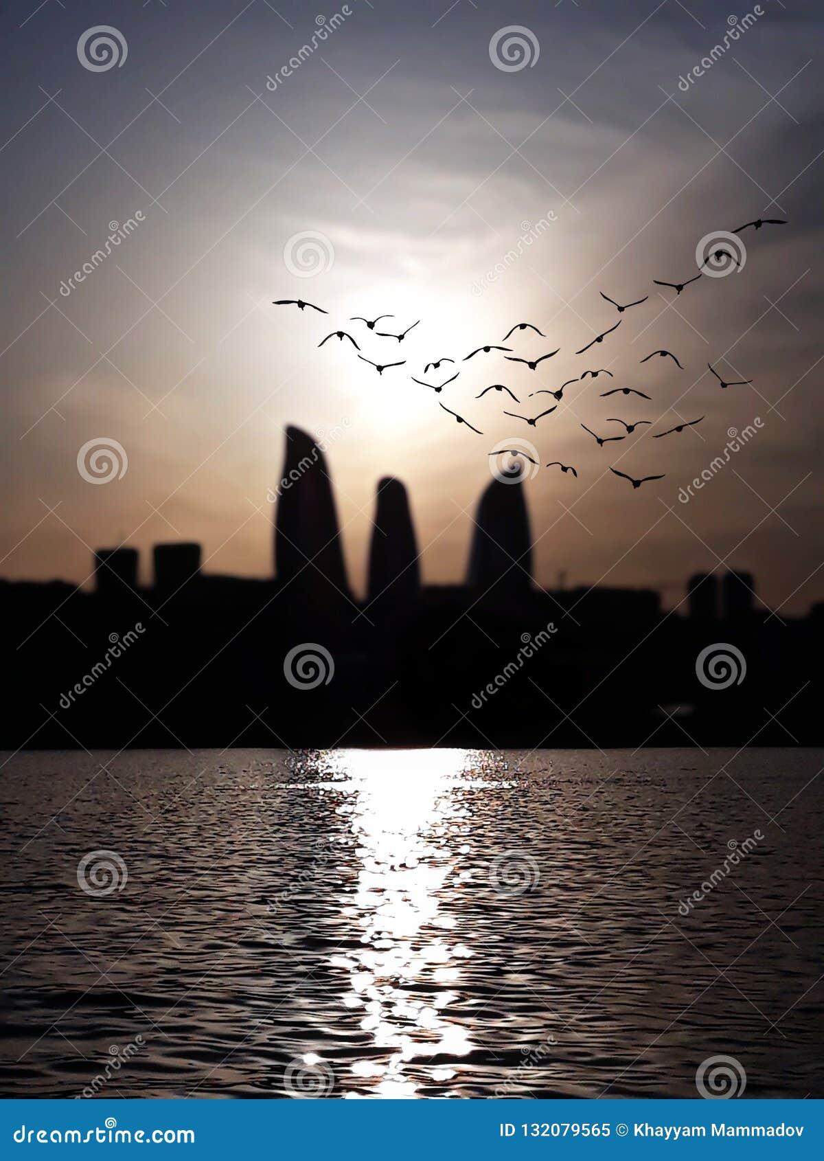 Взгляд города Баку