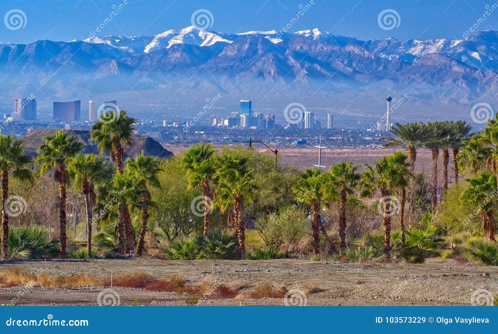 Взгляд Лас-Вегас в Неваде