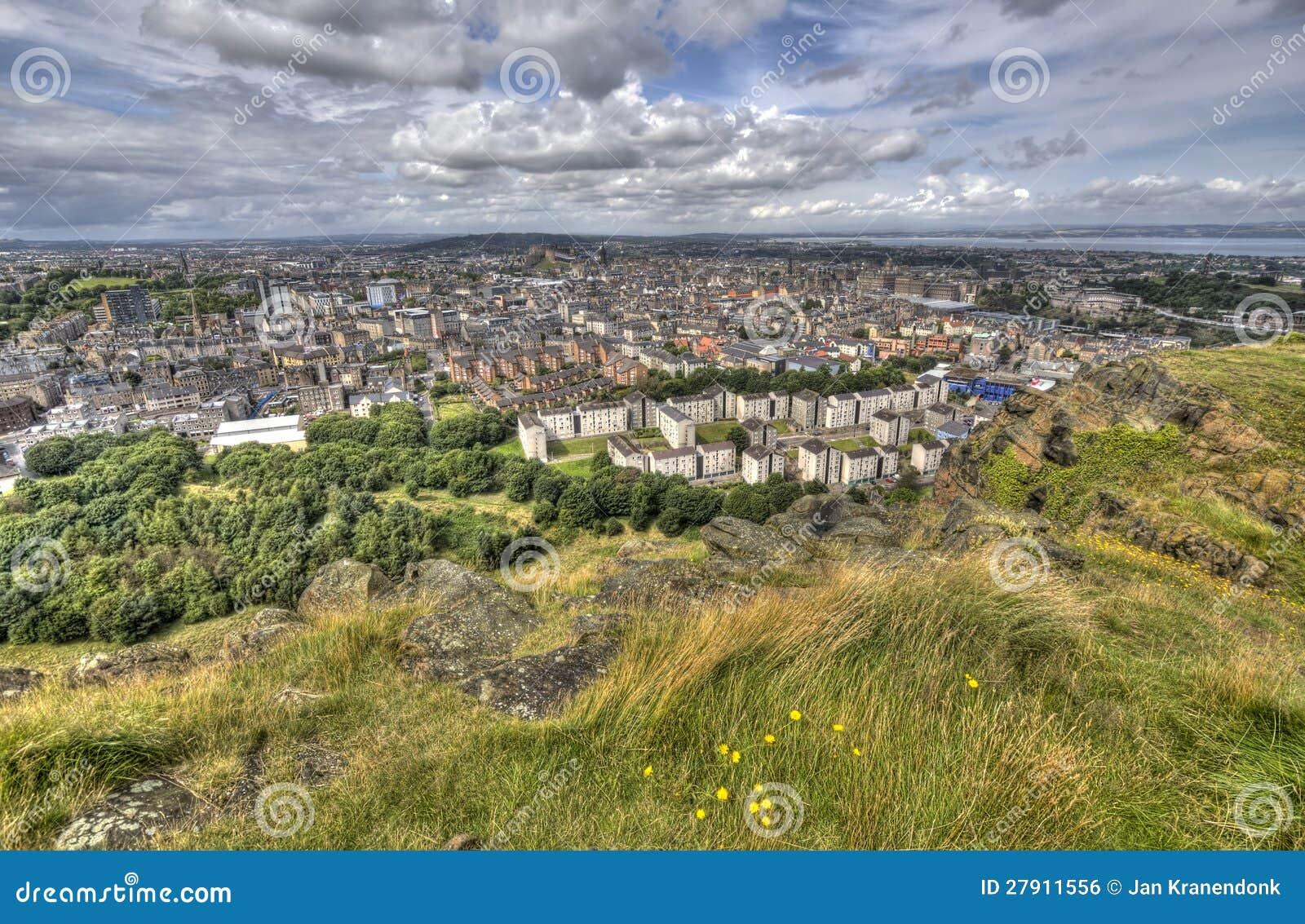 Взгляд над Эдинбург