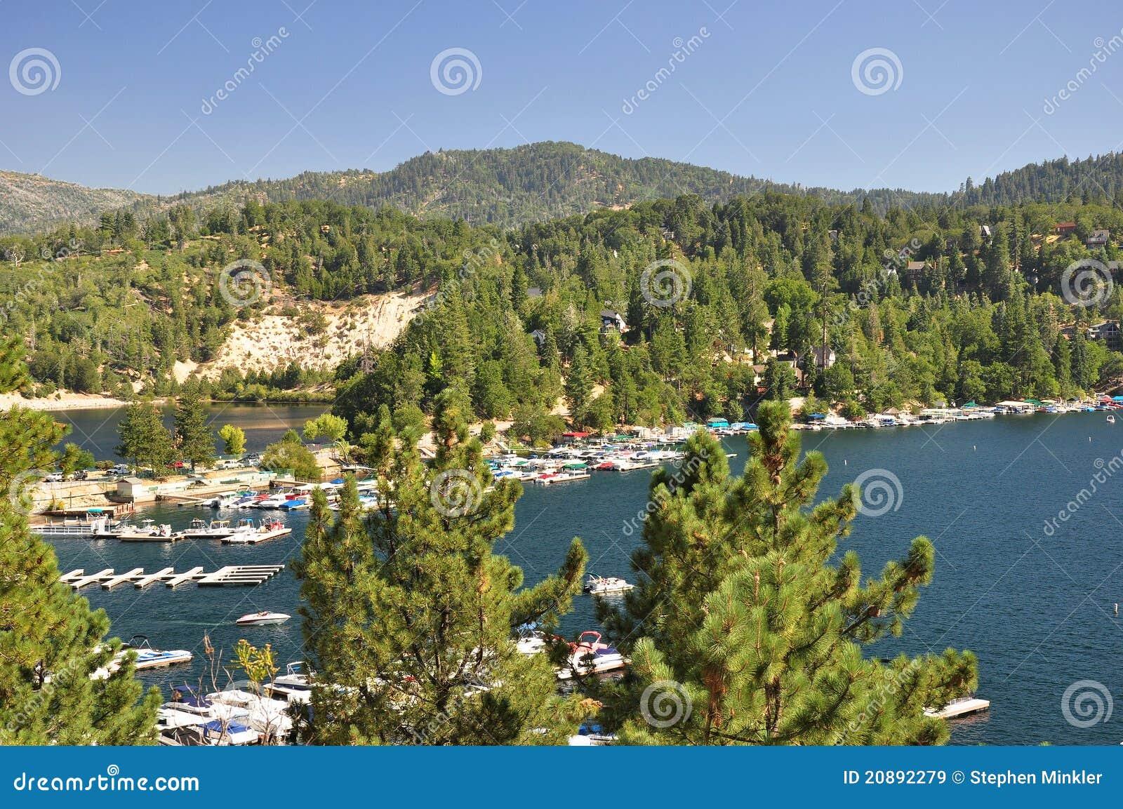 взгляд озера наконечника