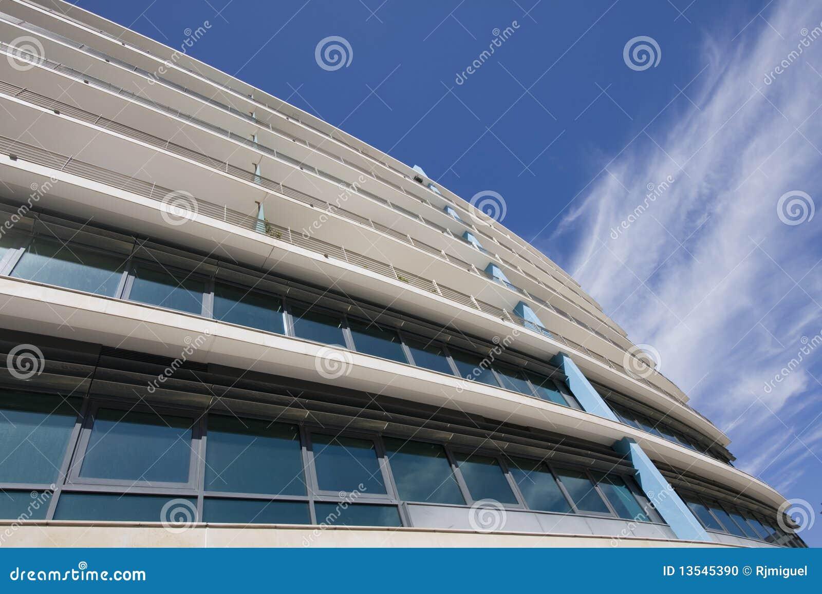 взгляд офиса города зданий городской внешний
