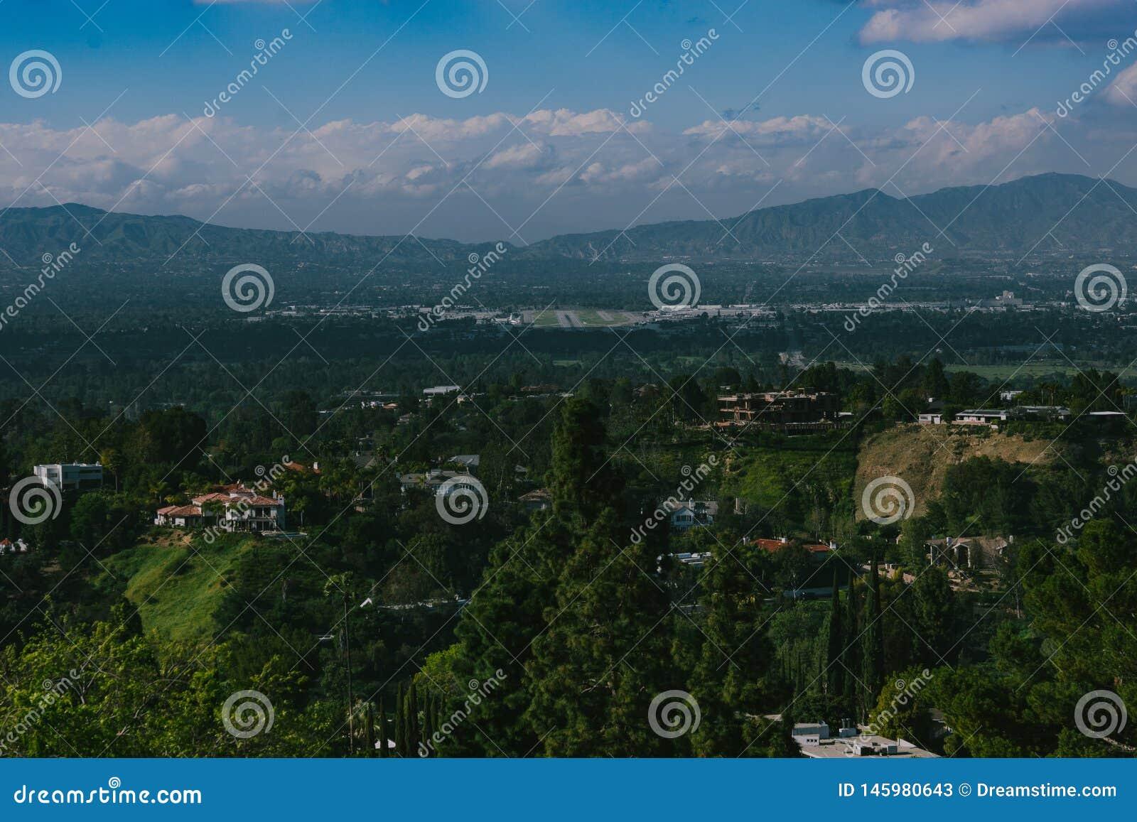 Взгляд панорамы страны