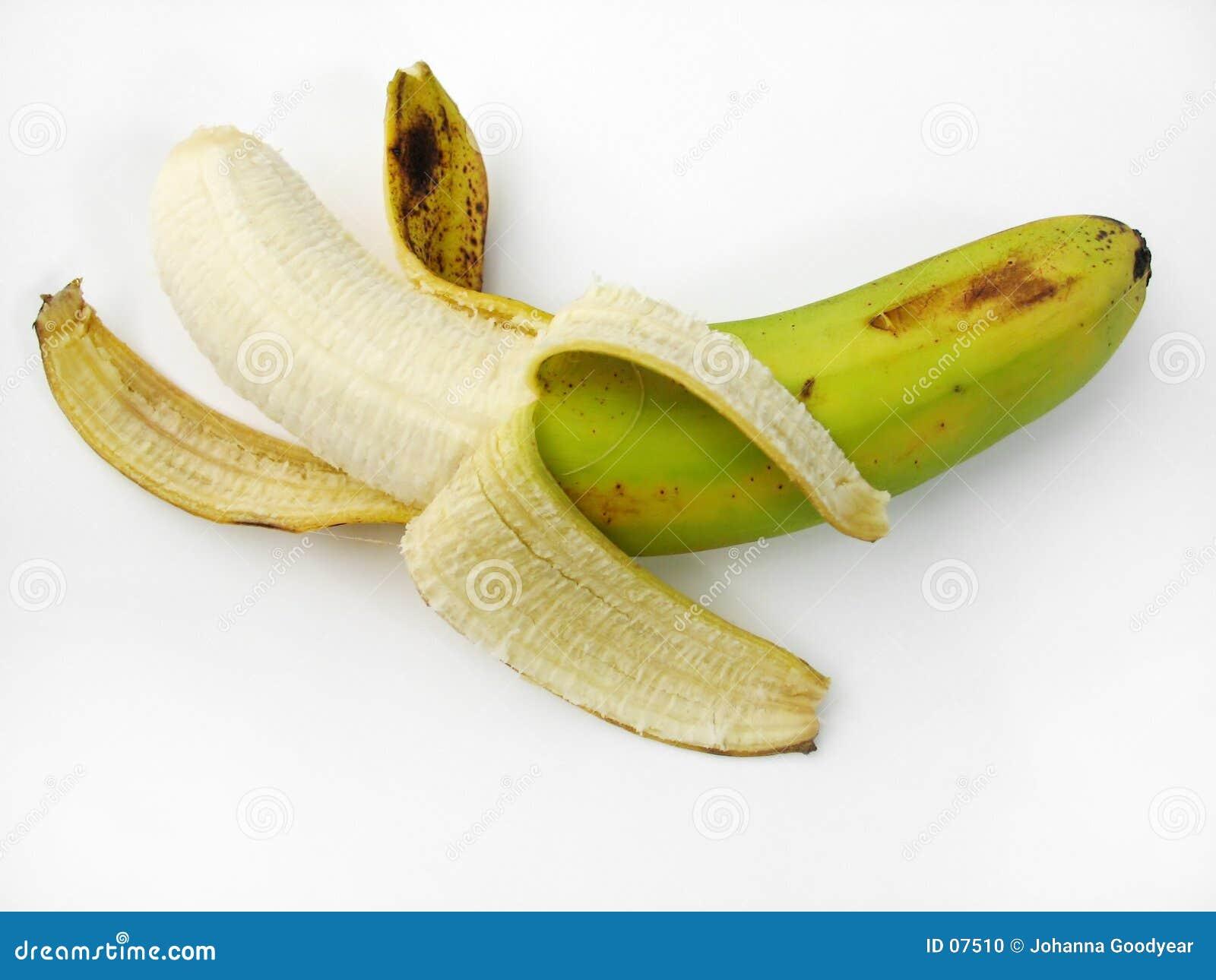 взгляд сверху банана