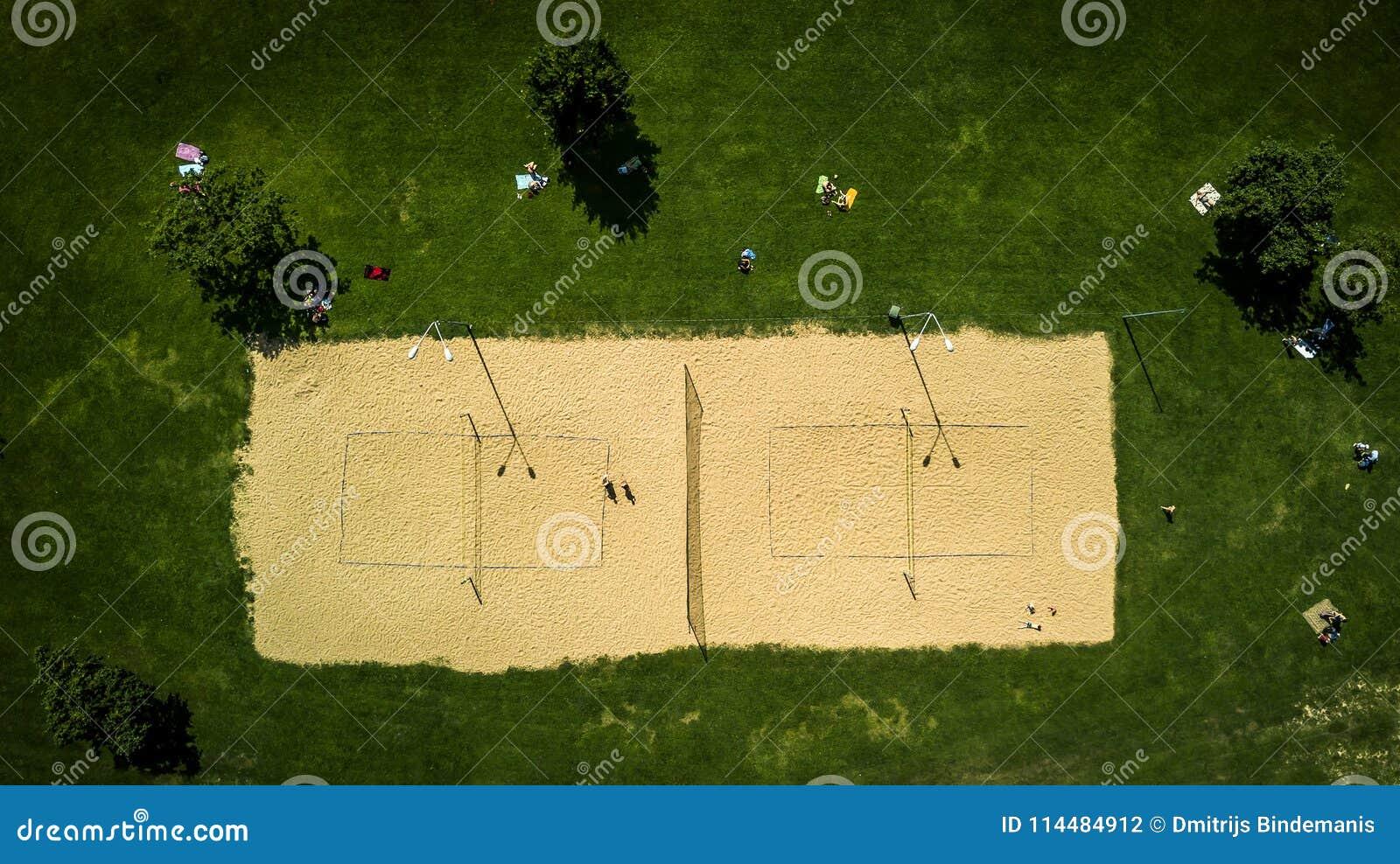 Картинка волейбольного поля сверху