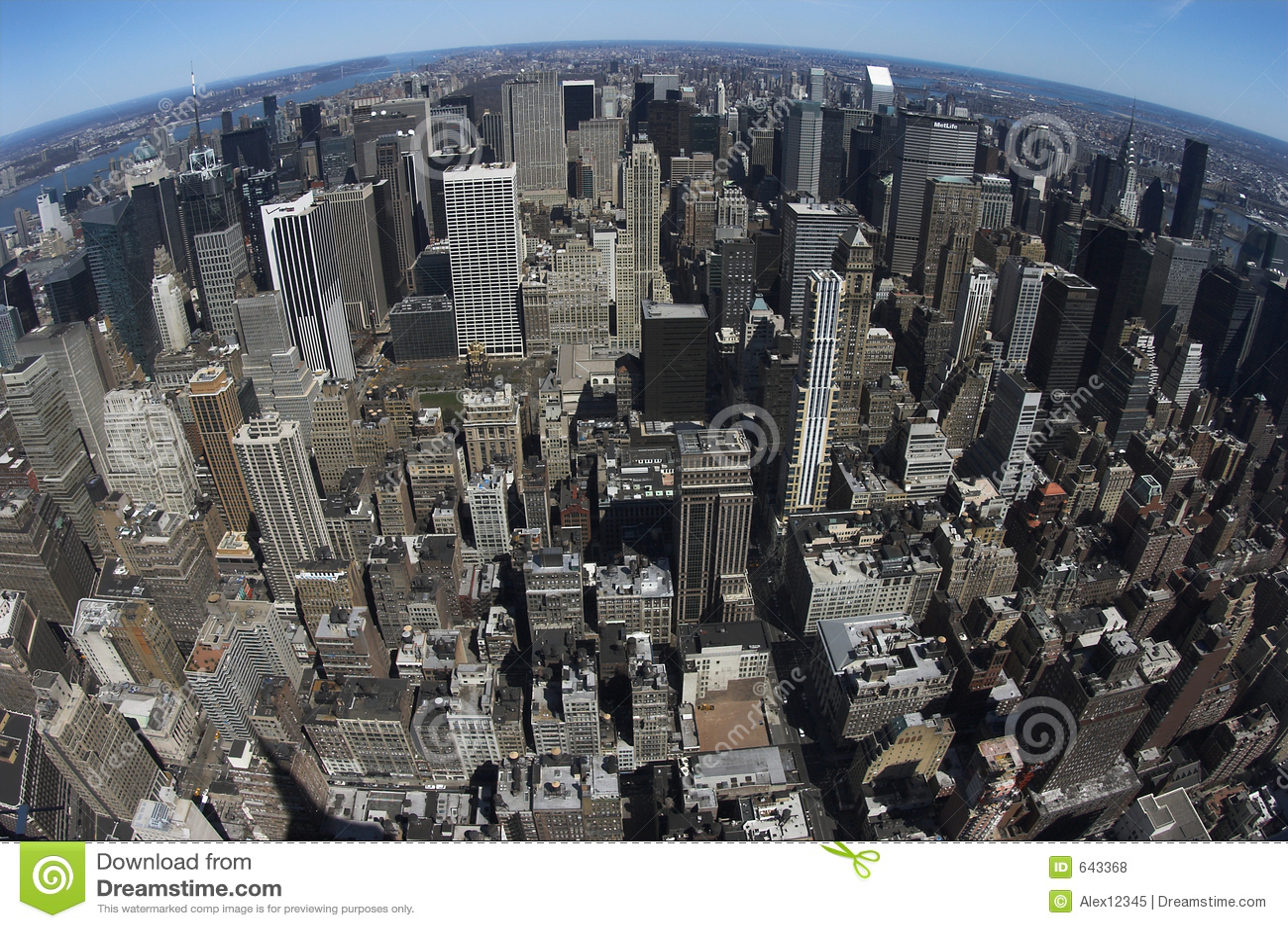 Download взгляд центра города птицы стоковое фото. изображение насчитывающей строя - 643368