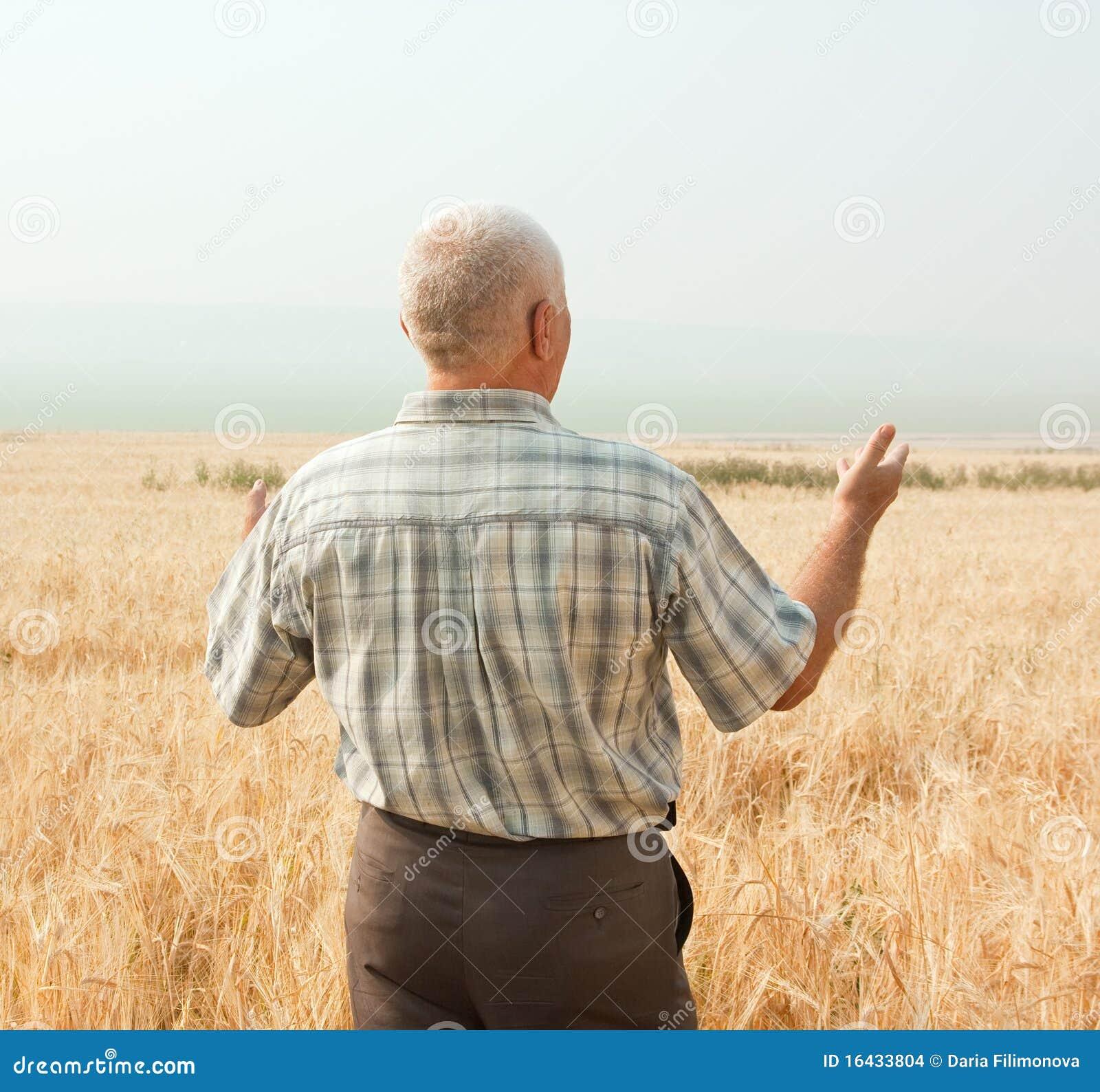 взгляд agriculturist задний успешный