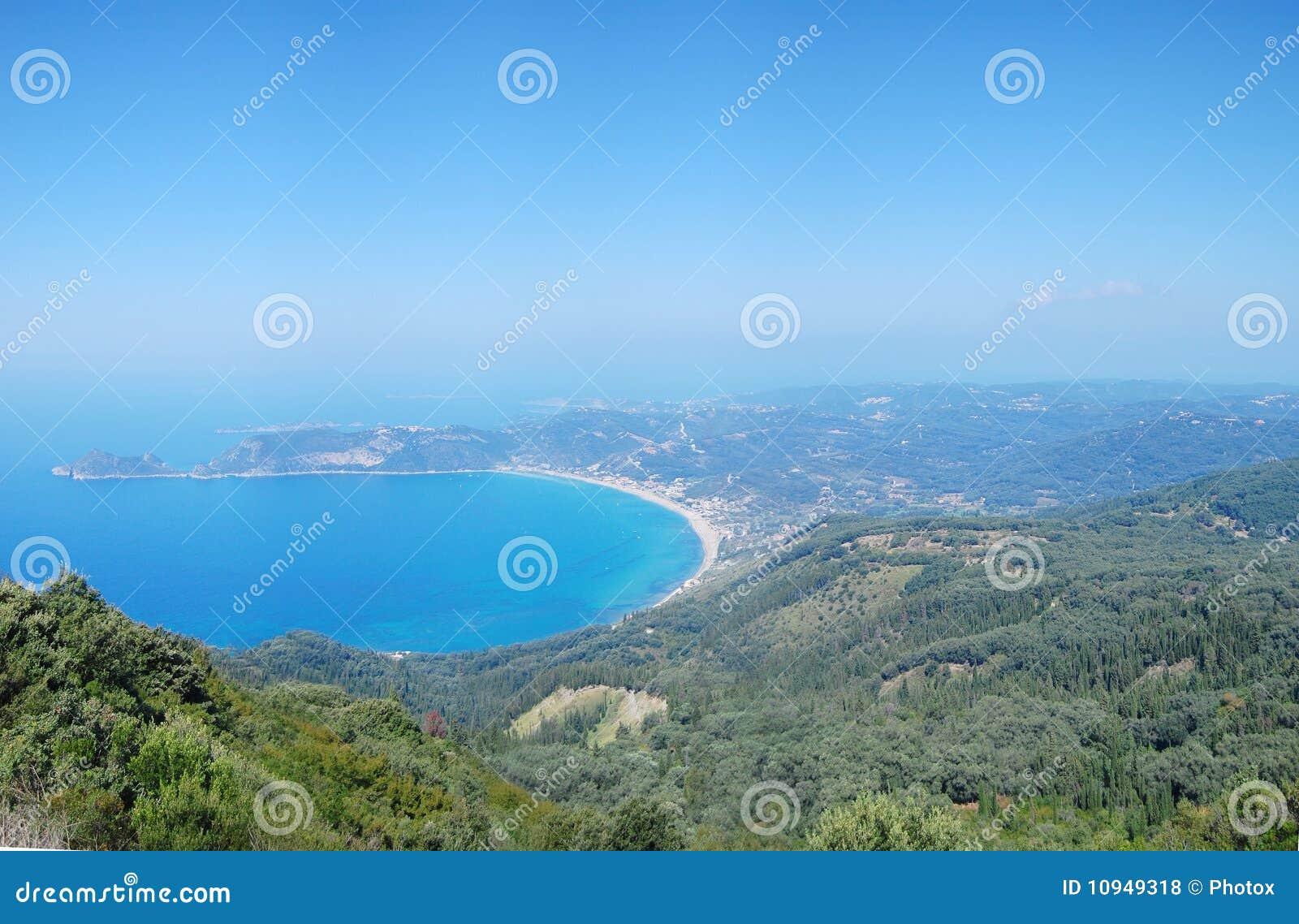 взгляд corfu панорамный