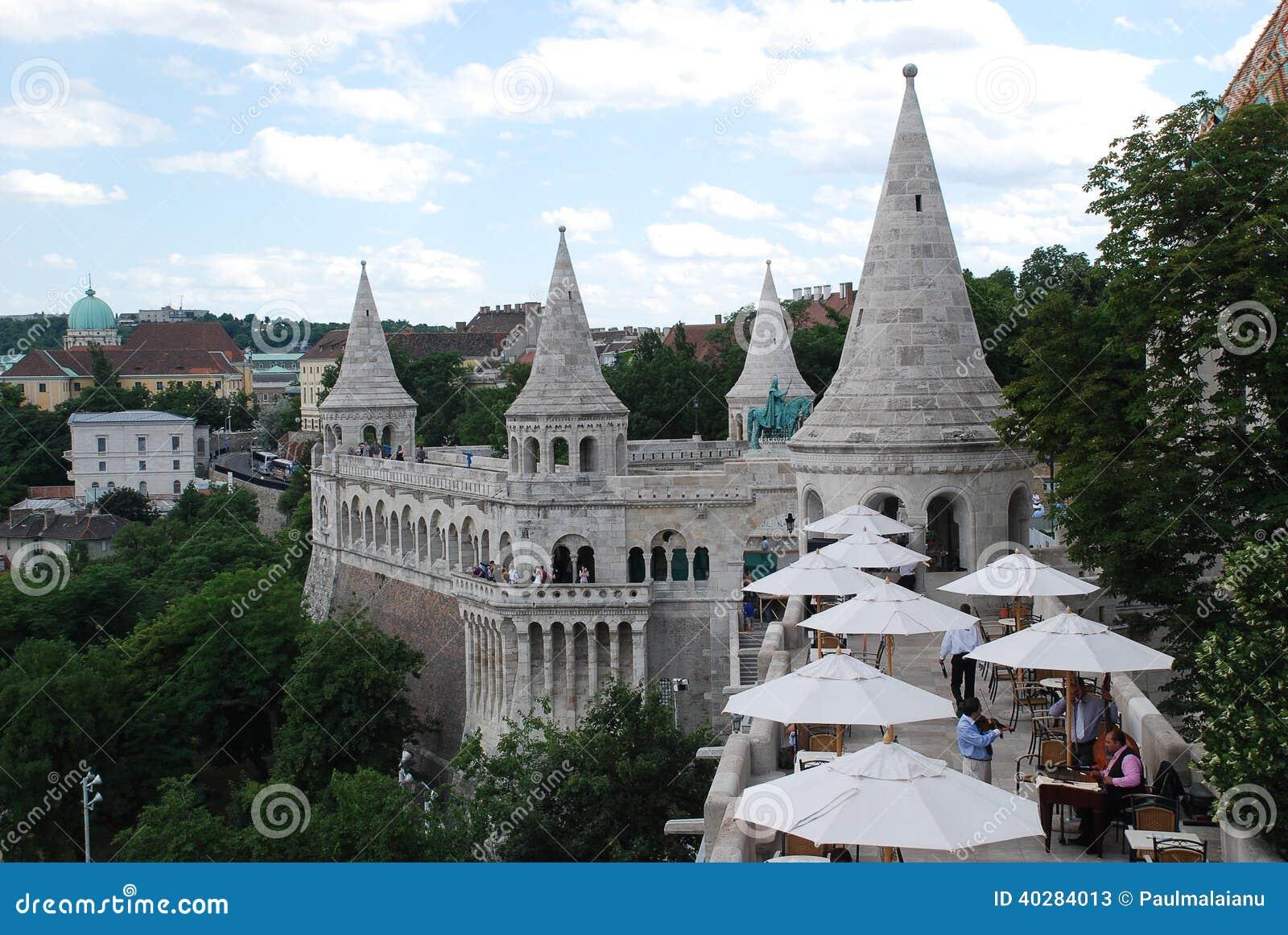 Взгляд бастиона Будапешта рыболова, Венгрии