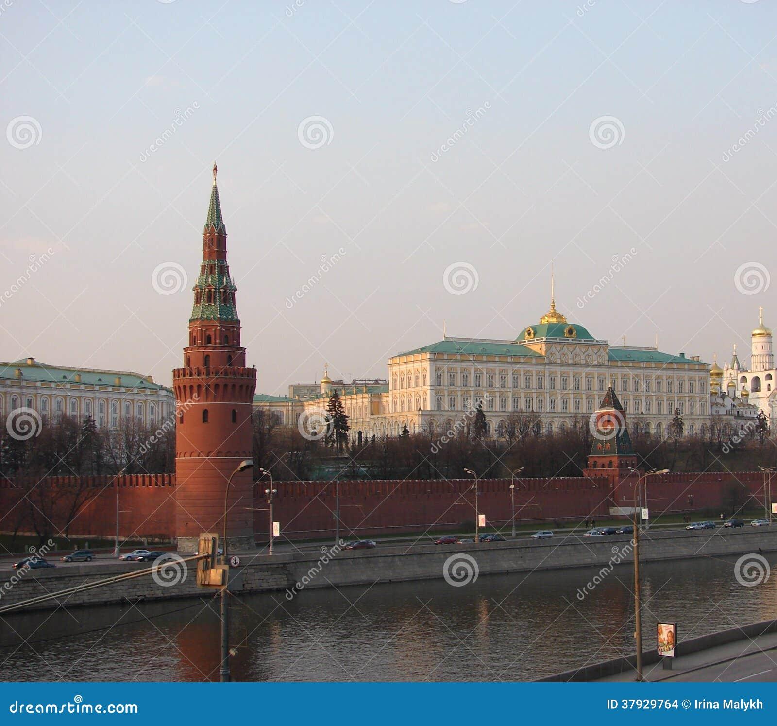 Взгляд города Москвы