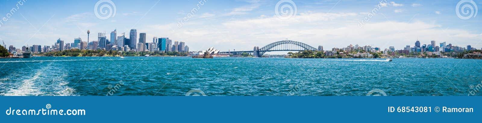 Взгляд города Сидней