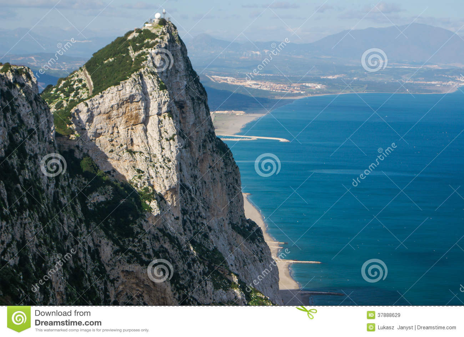 Взгляд утеса Гибралтара