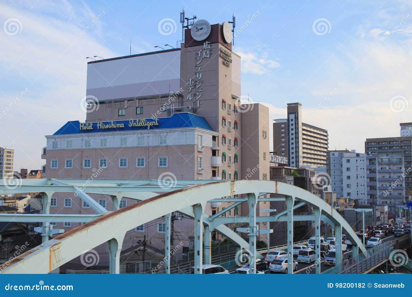 Download взгляд улицы на Хиросиме редакционное фотография. изображение насчитывающей япония - 98200182