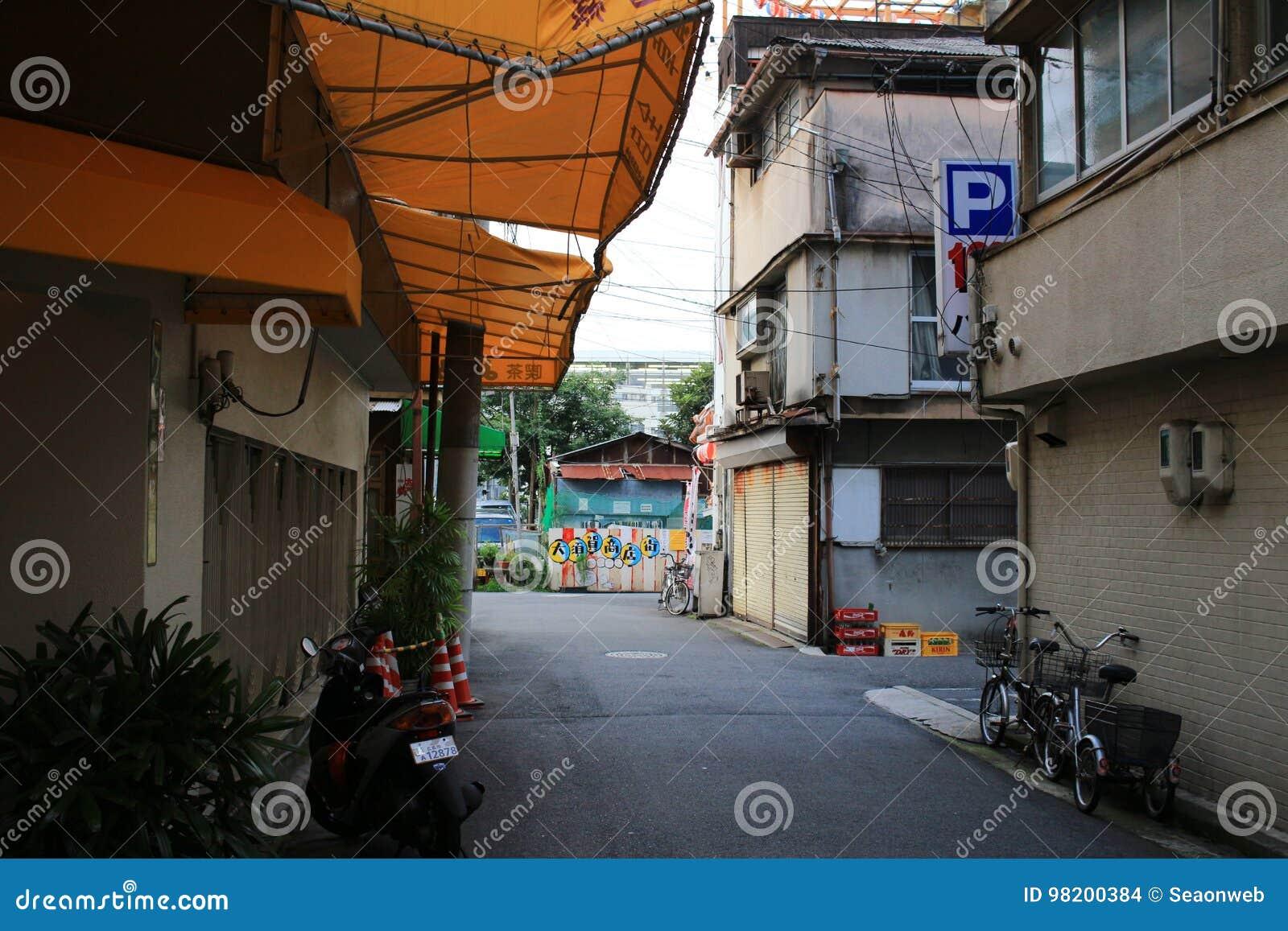 Download взгляд улицы Хиросимы редакционное стоковое изображение. изображение насчитывающей bluets - 98200384
