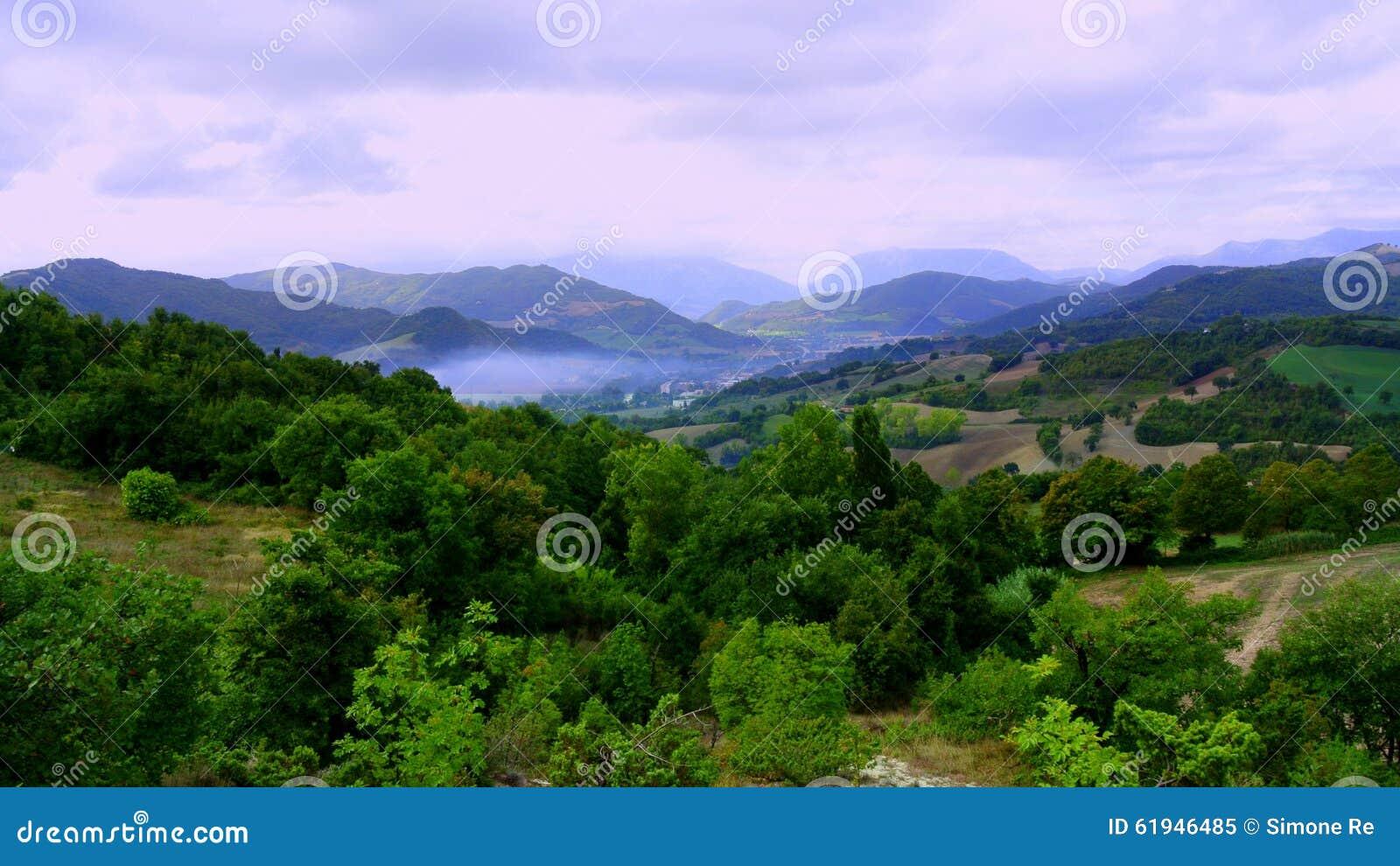 Взгляды итальянской сельской местности