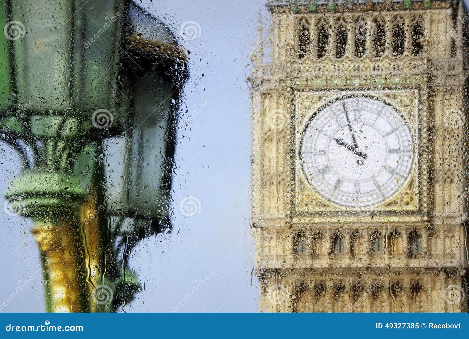 Взгляды Лондона через стекло
