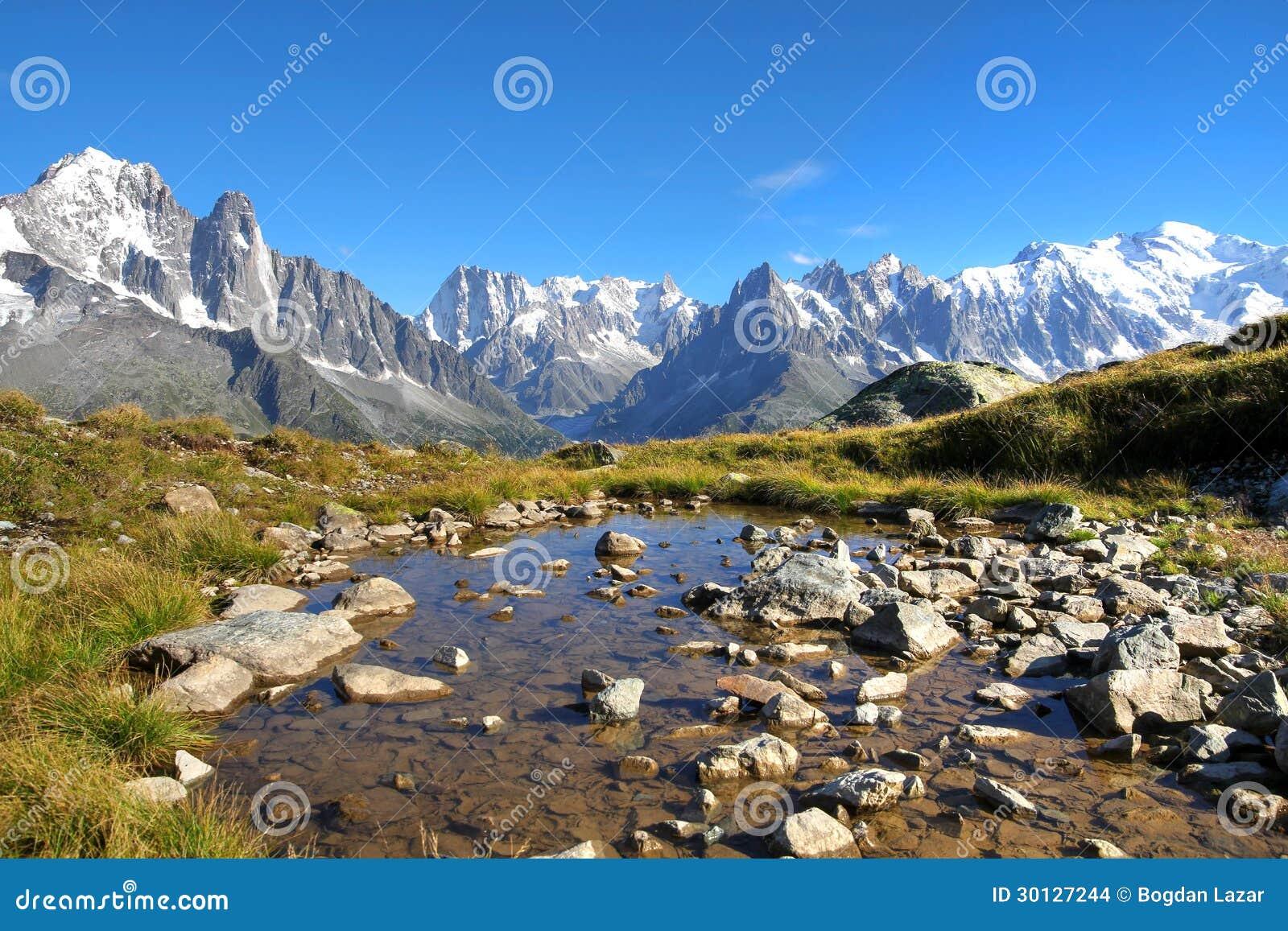 Mont Blanc, франция