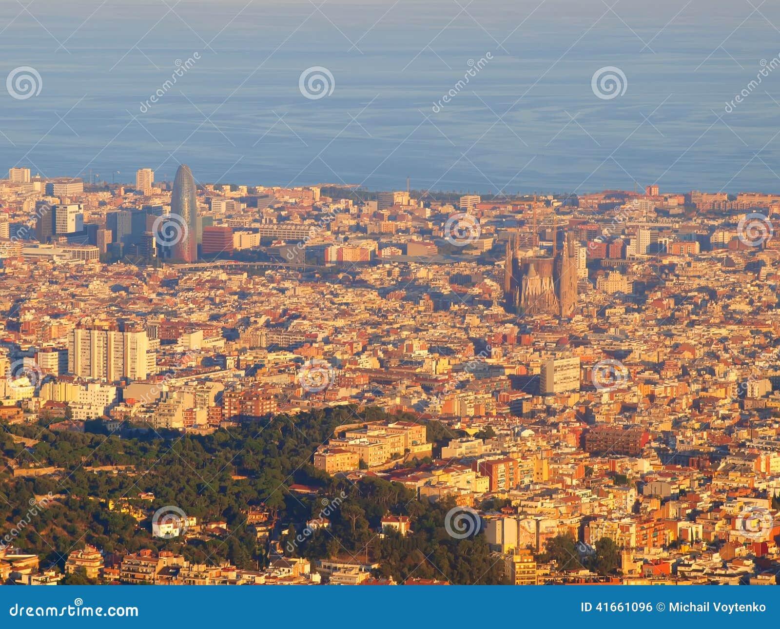 взгляд tibidano barcelona Испании