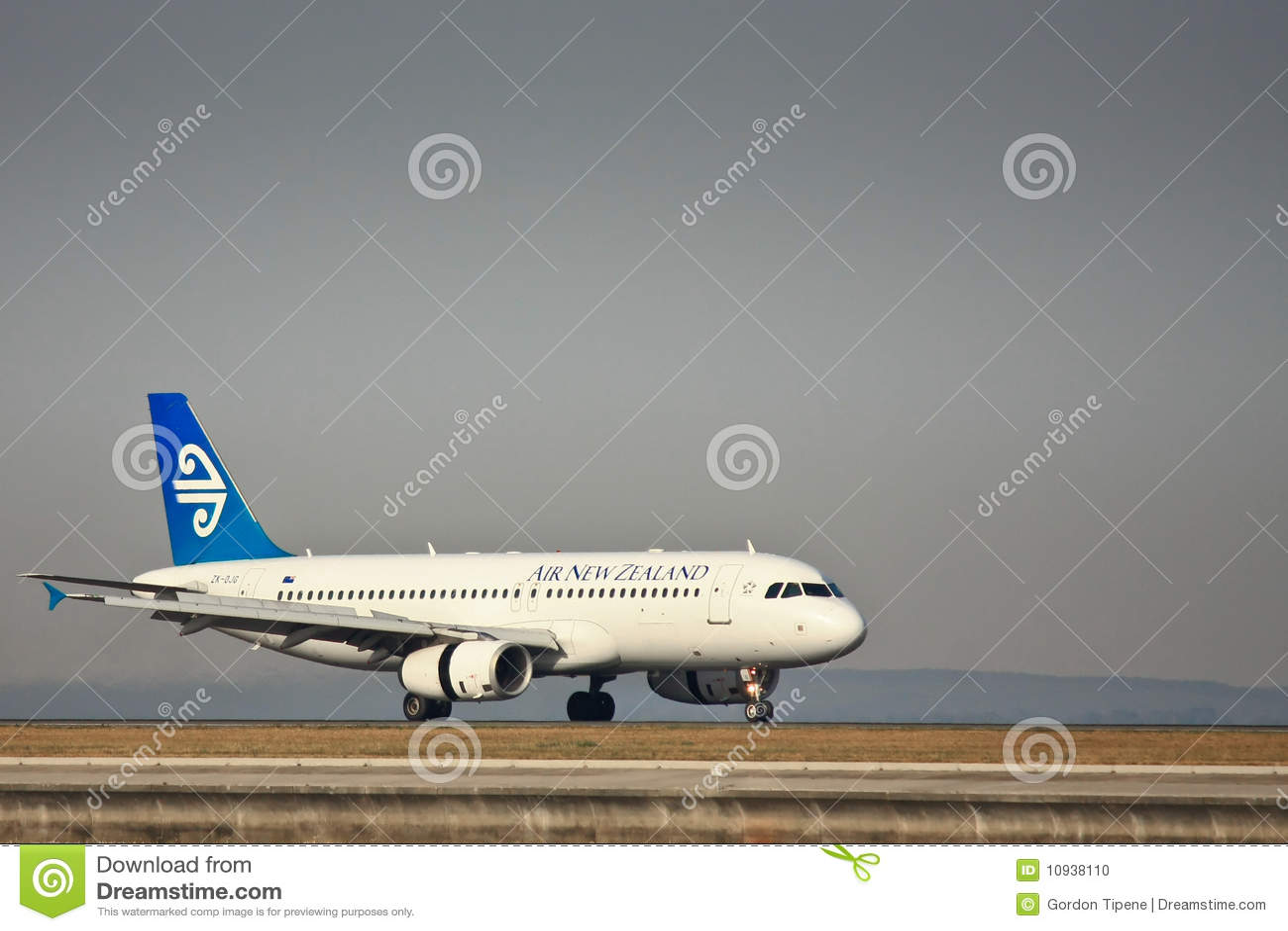 взлётно-посадочная дорожка zealand воздуха 737 новая